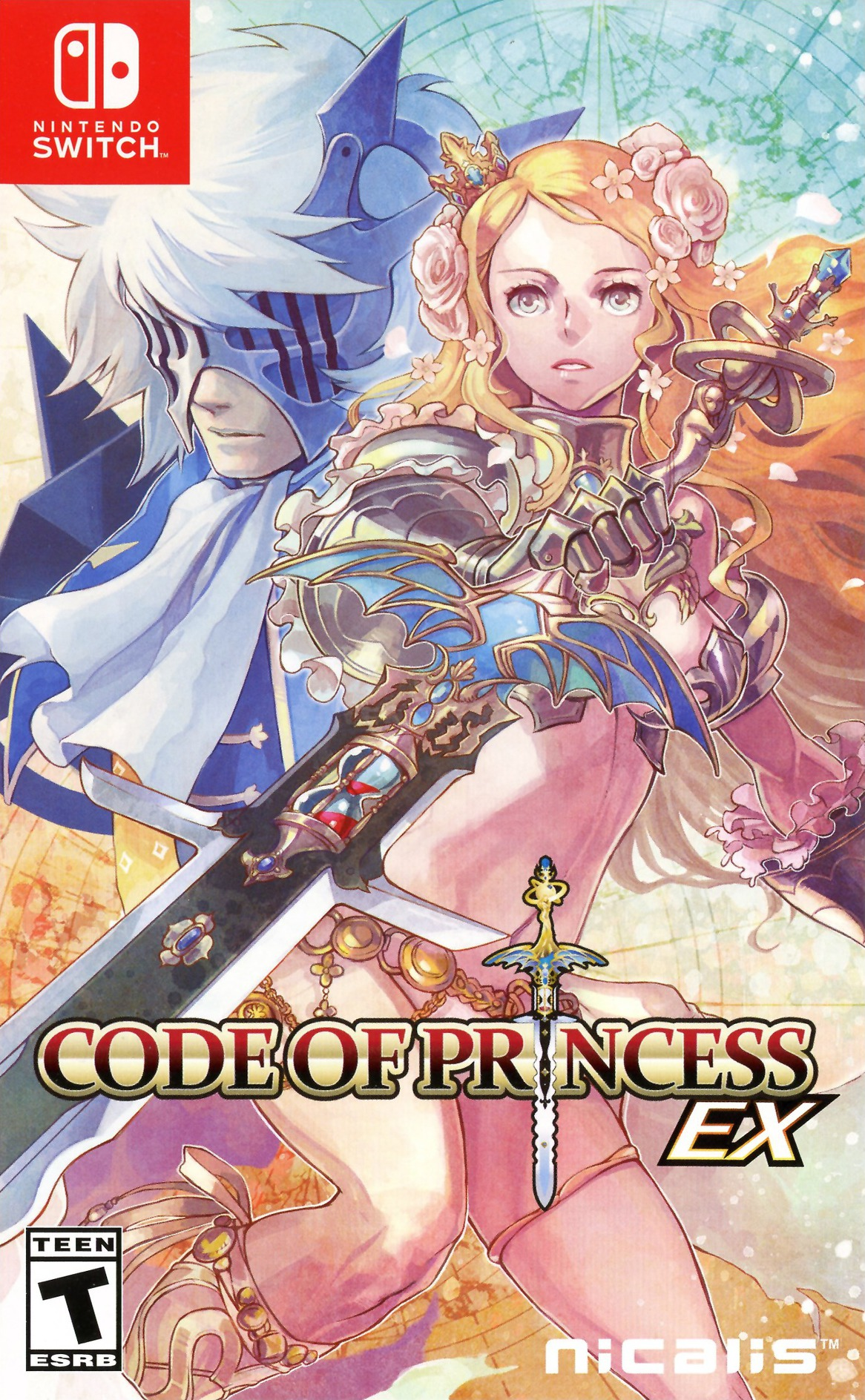 Code of Princess EX Switch coverHQ (AF86A)