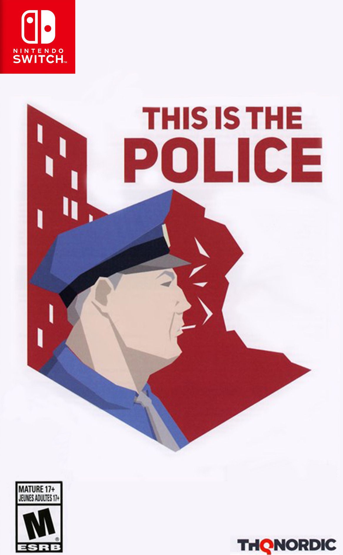 This is the Police Switch coverHQ (AFHRA)