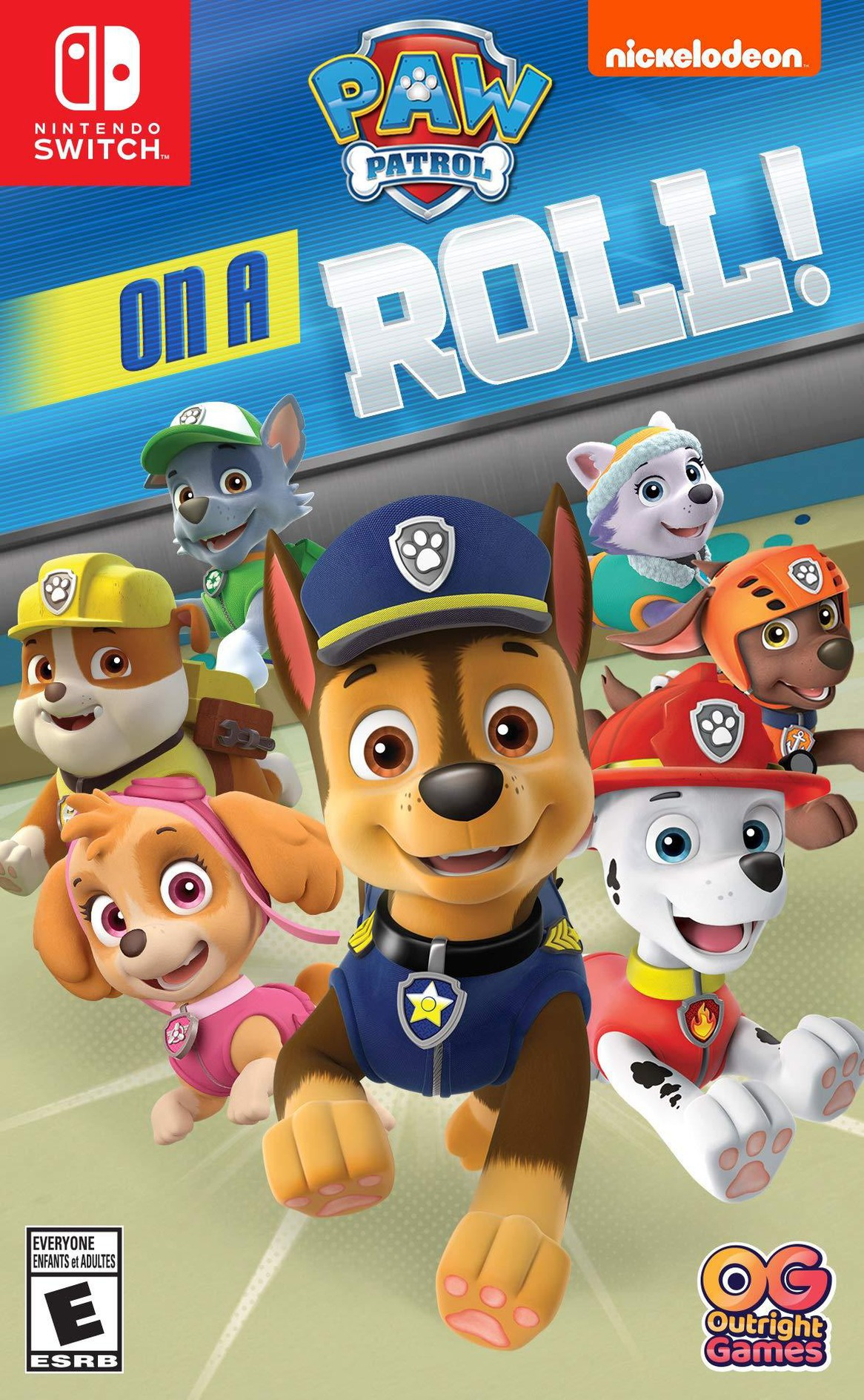 Nickelodeon Paw Patrol - On A Roll Marshall Switch coverHQ (AFLRA)