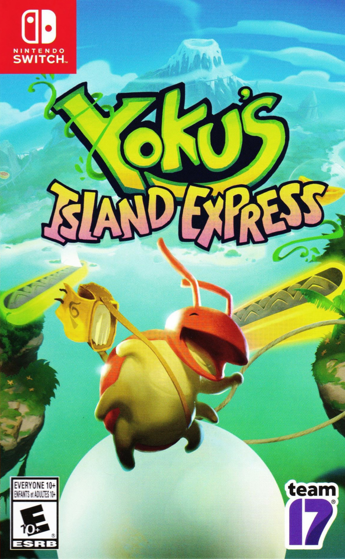 Yoku's Island Express Switch coverHQ (AGV8A)