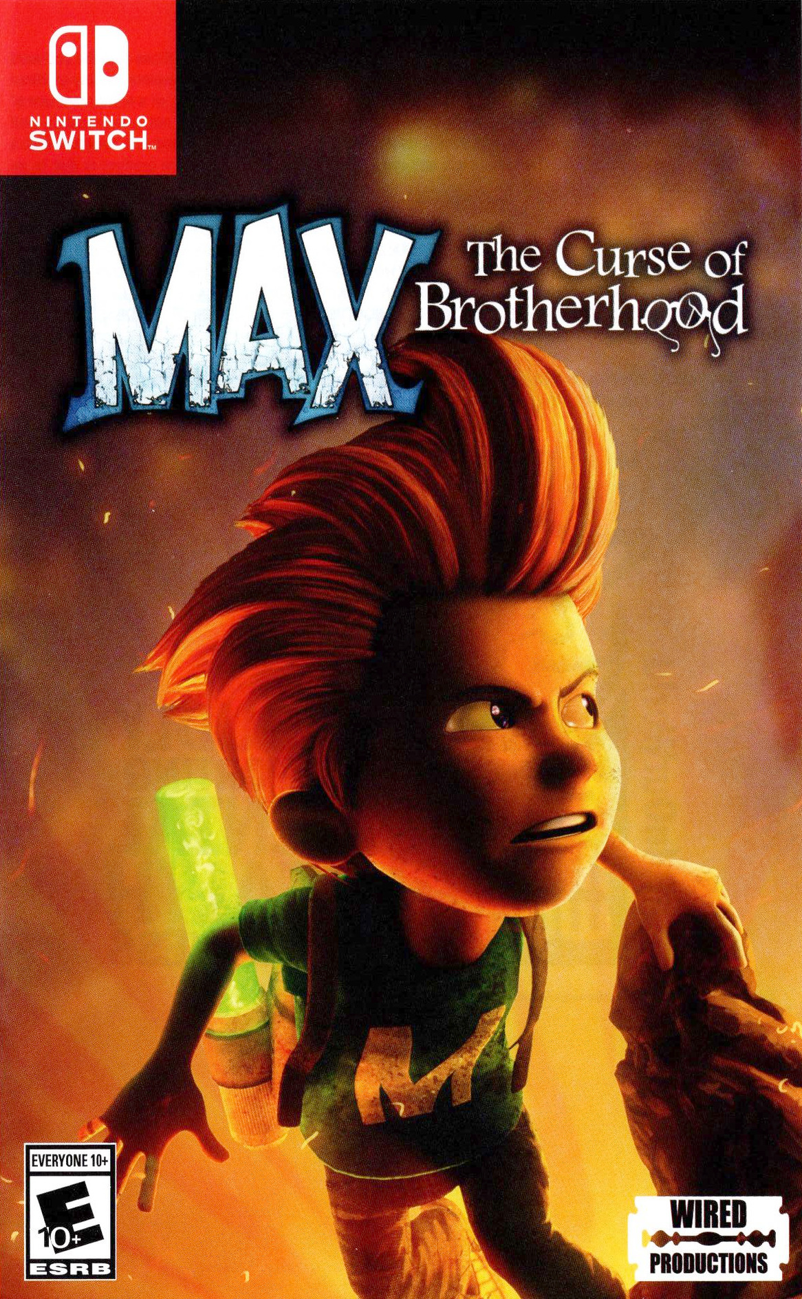 Max - The Curse of Brotherhood Switch coverHQ (AJ29C)