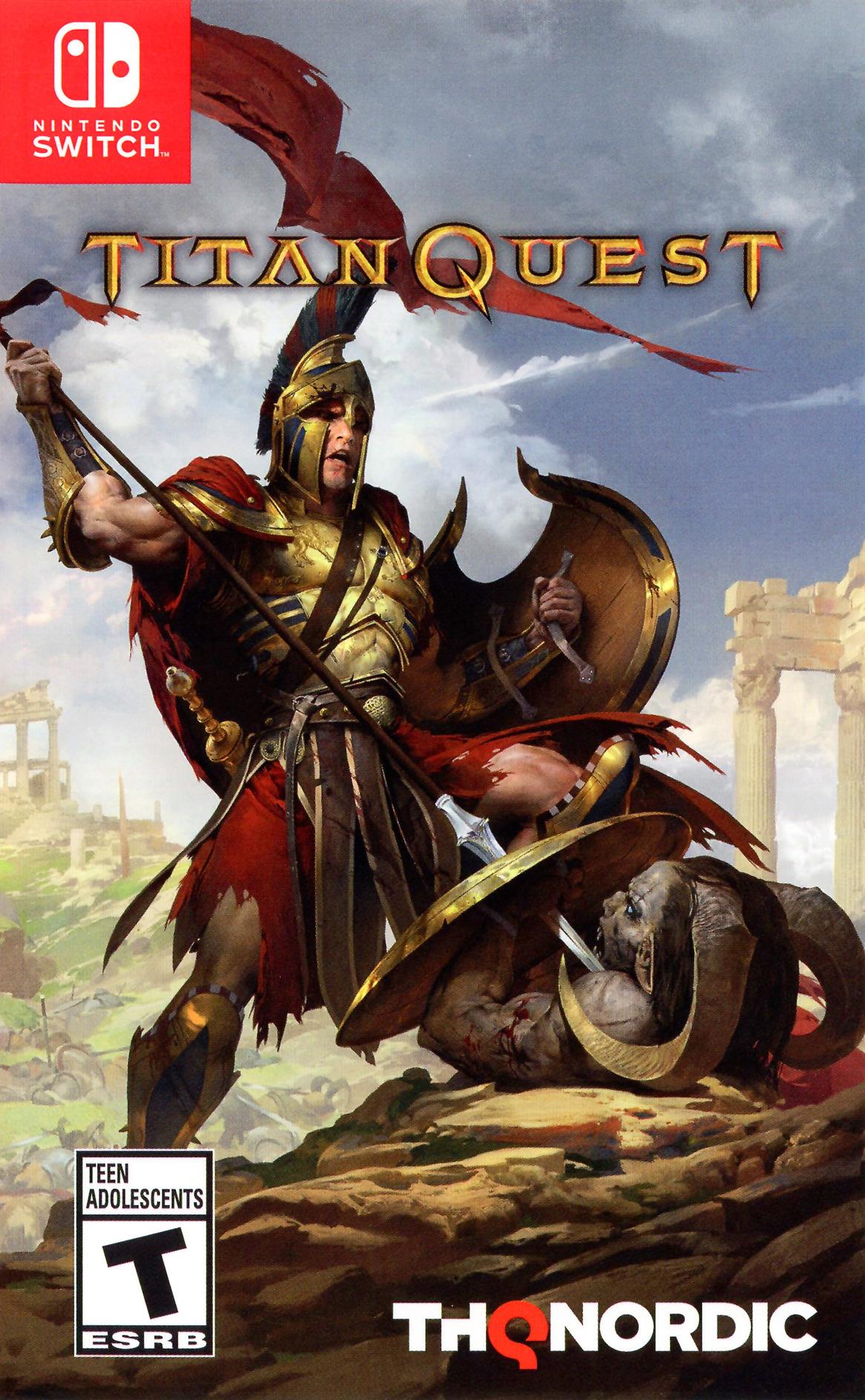 Titan Quest Switch coverHQ (AK5BA)
