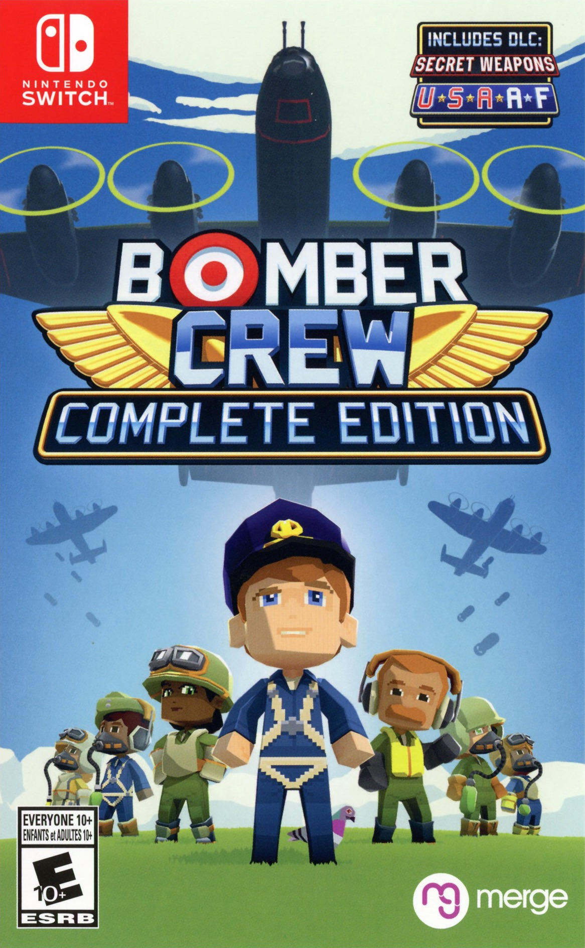 Bomber Crew: Complete Edition Switch coverHQ (AKXGD)