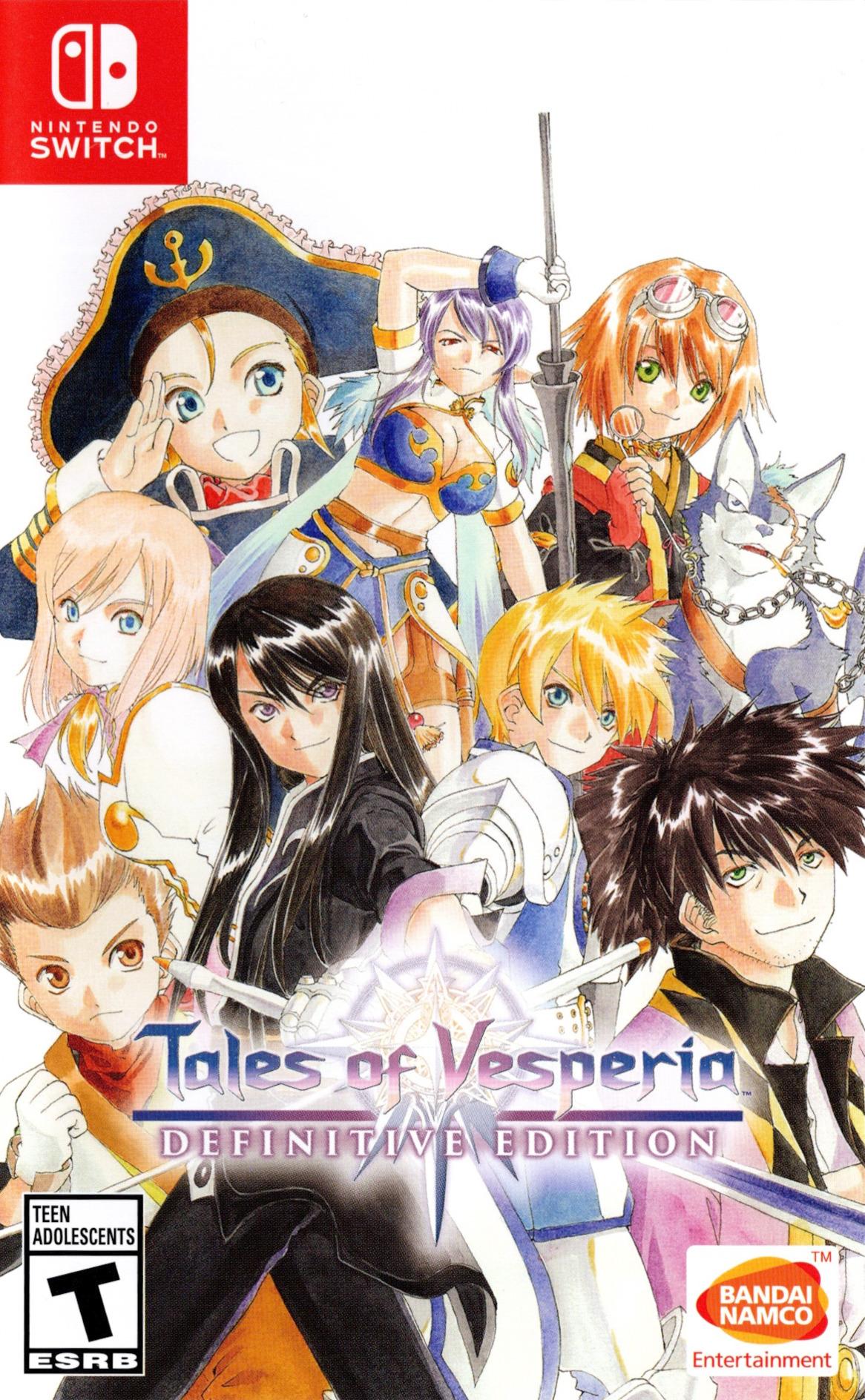 Tales of Vesperia: Definitive Edition Switch coverHQ (AL7WA)
