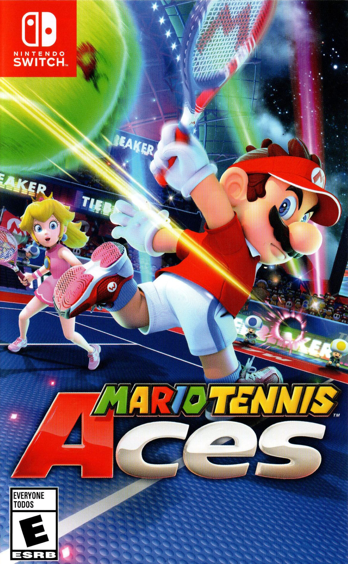 Image result for mario tennis aces nintendo switch north american box art