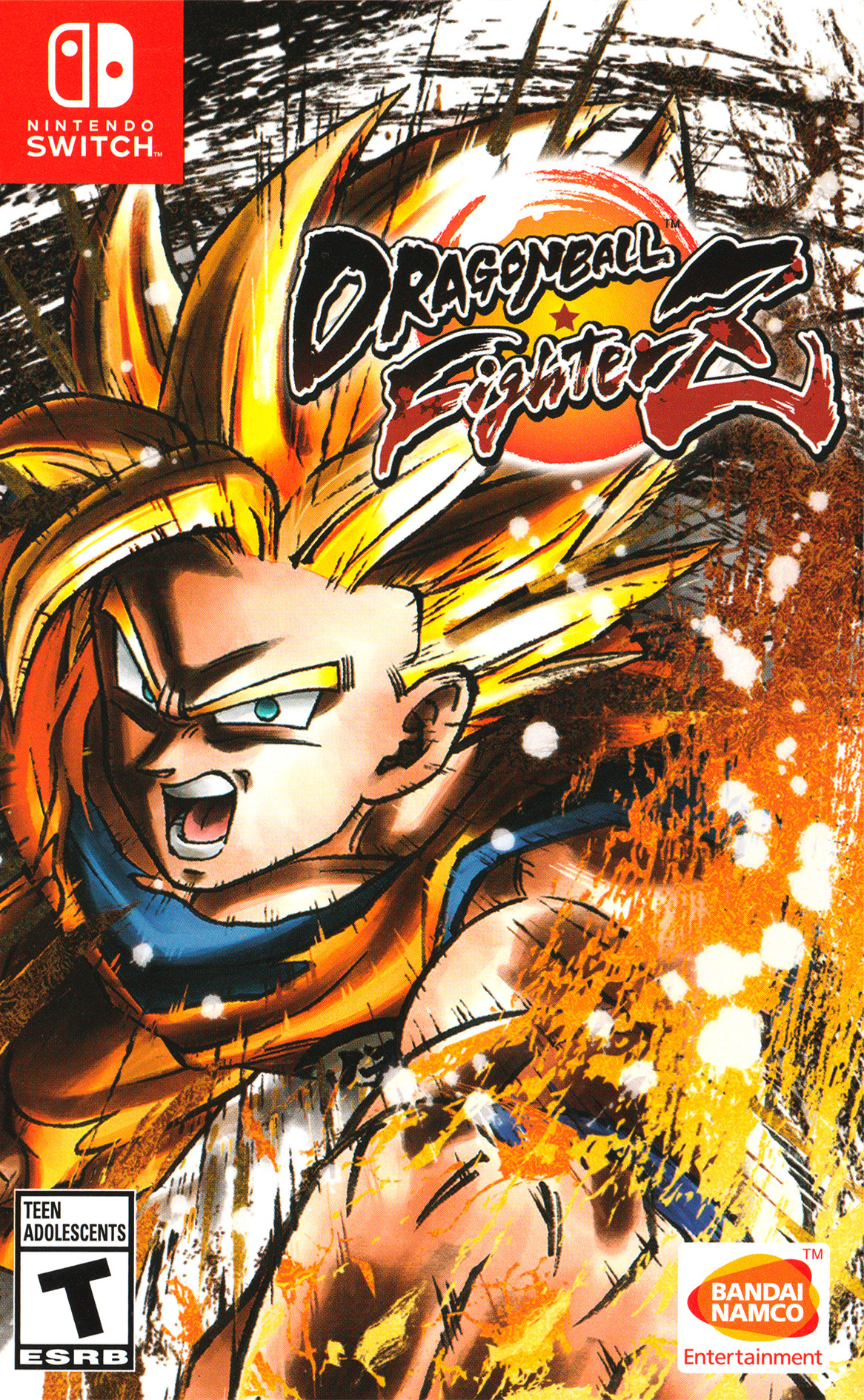 Dragon Ball FighterZ Switch coverHQ (AM5WA)