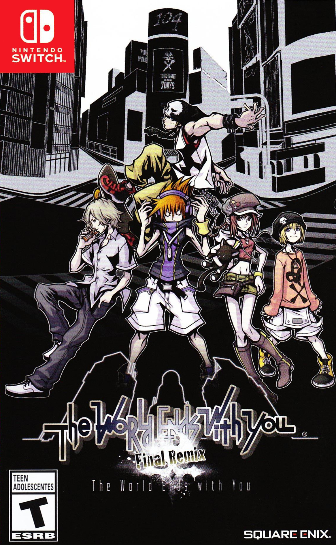 The World Ends With You -Final Remix- Switch coverHQ (AM78B)