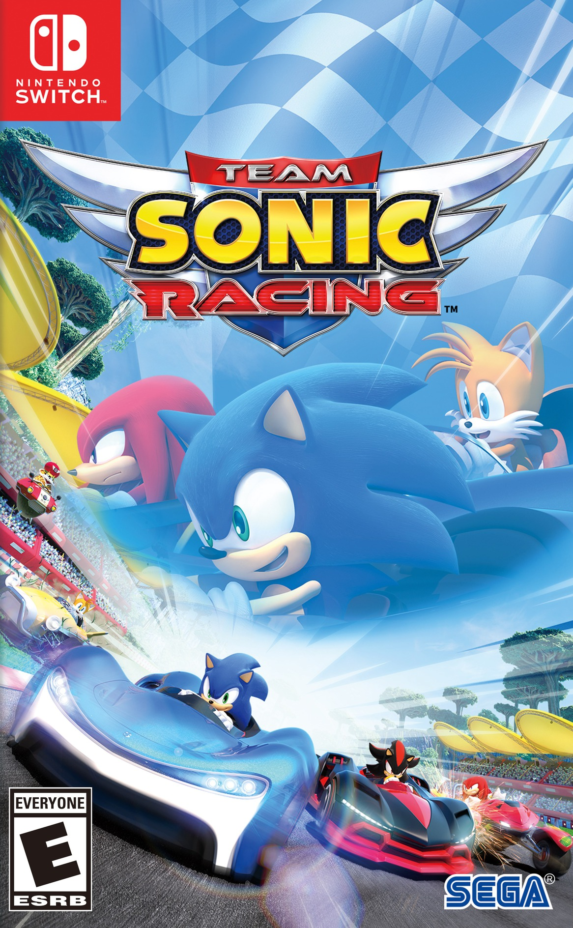 Team Sonic Racing Switch coverHQ (AMKCA)