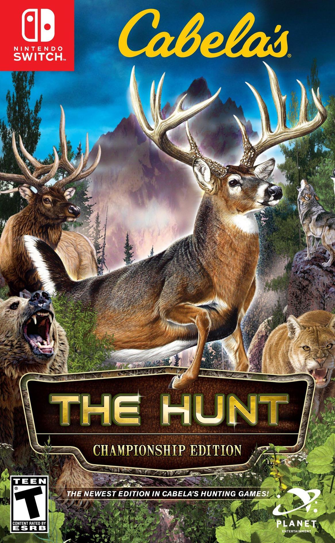 Cabela's - The Hunt - Championship Edition Switch coverHQ (AMU4A)
