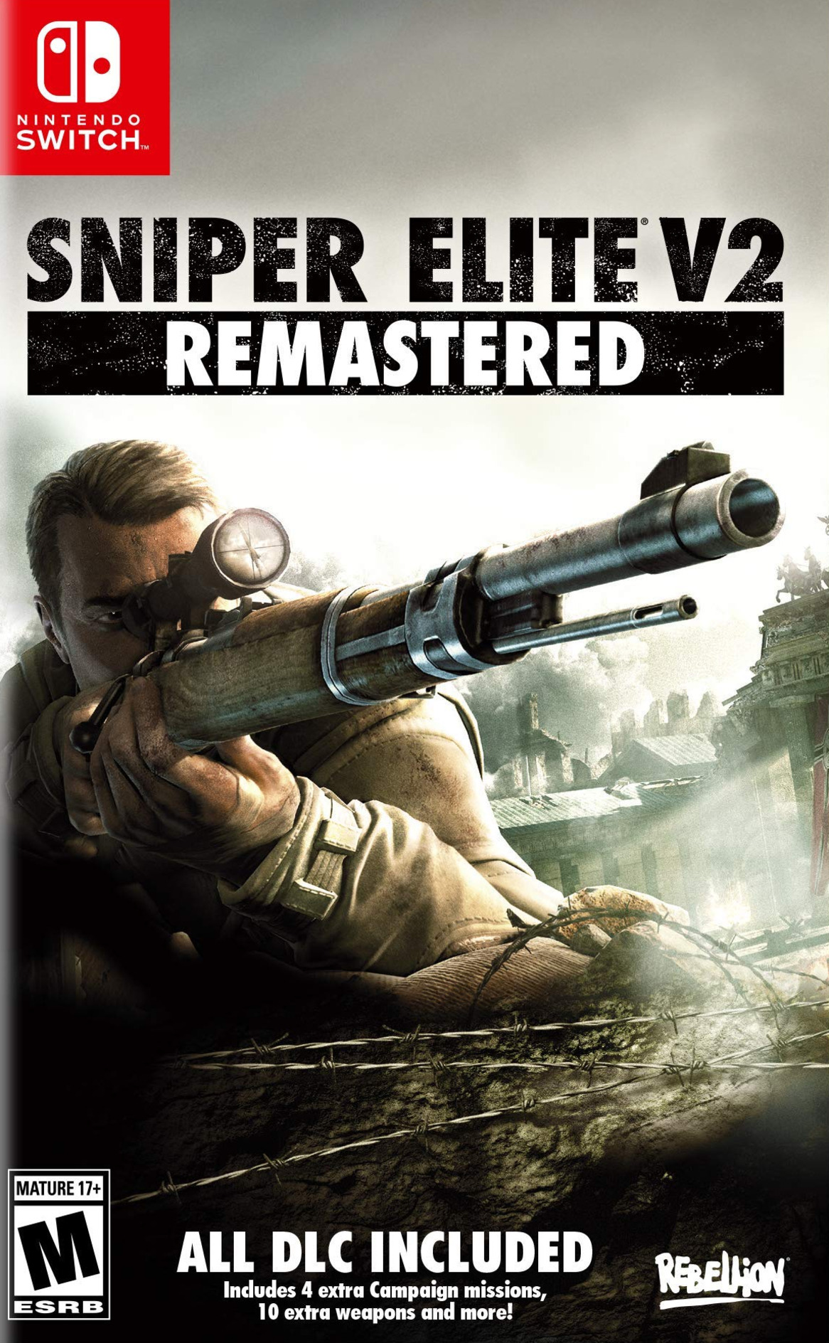 Sniper Elite V2 Remastered Switch coverHQ (AN9KA)