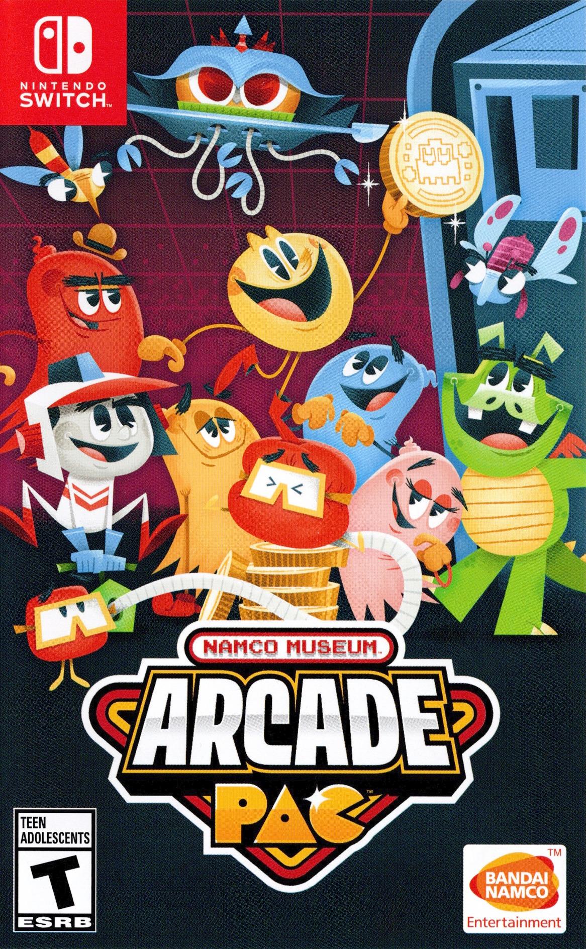 Namco Museum Arcade Pac Switch coverHQ (AP3MA)