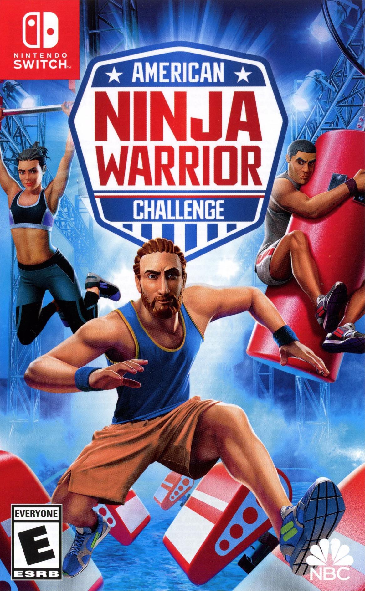 American Ninja Warrior - Challenge Switch coverHQ (APABA)