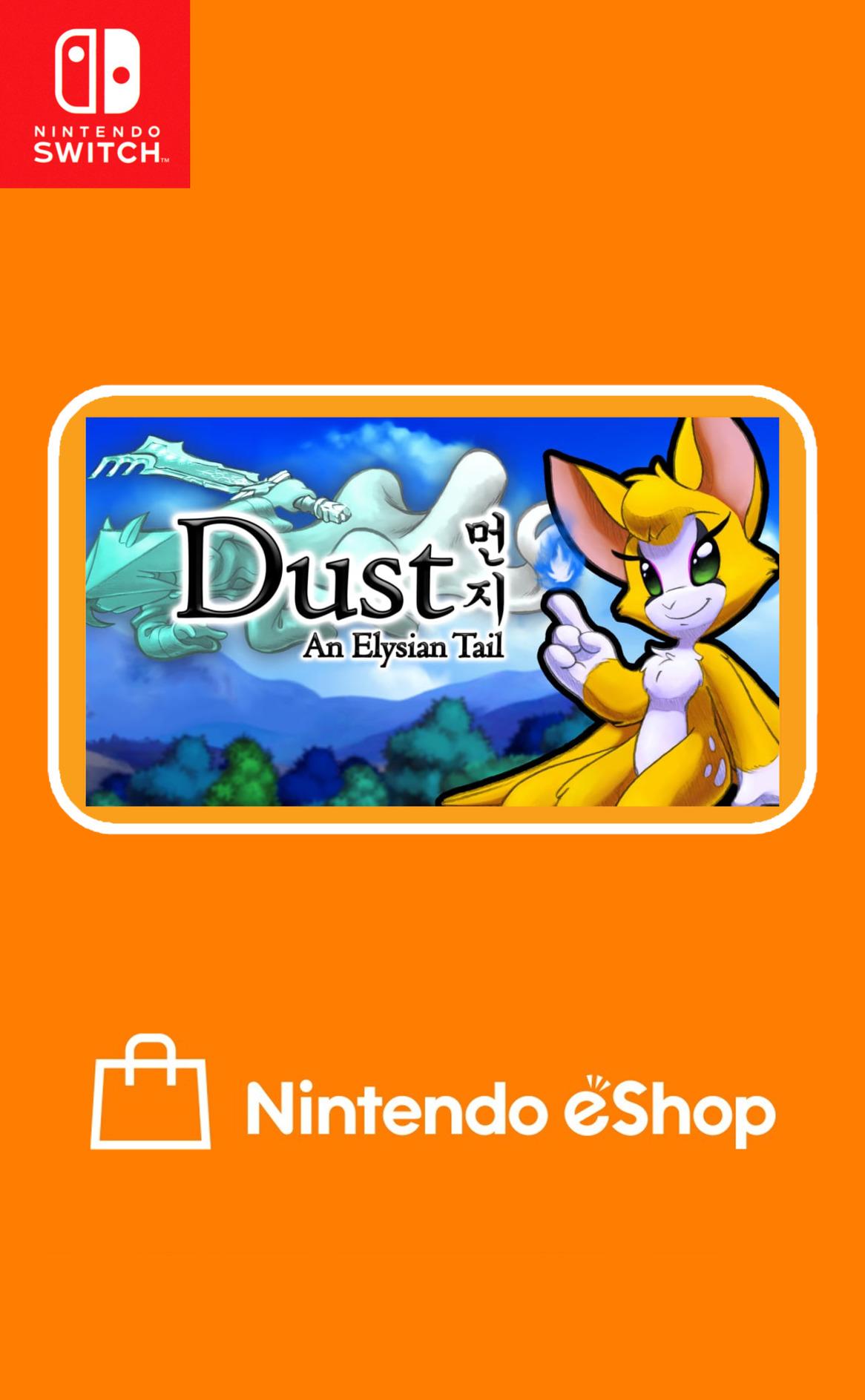 Dust: An Elysian Tail Switch coverHQ (APAHA)