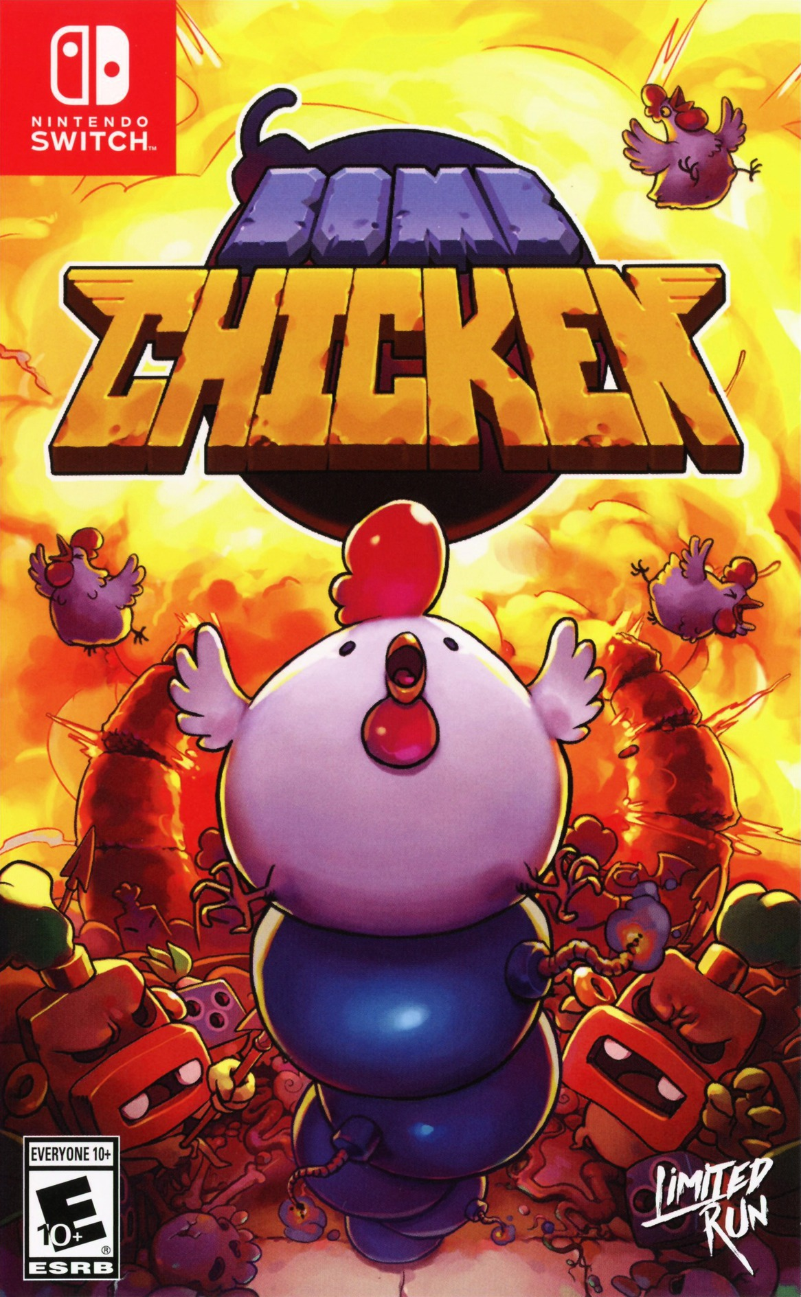 Bomb Chicken Switch coverHQ (APDQA)