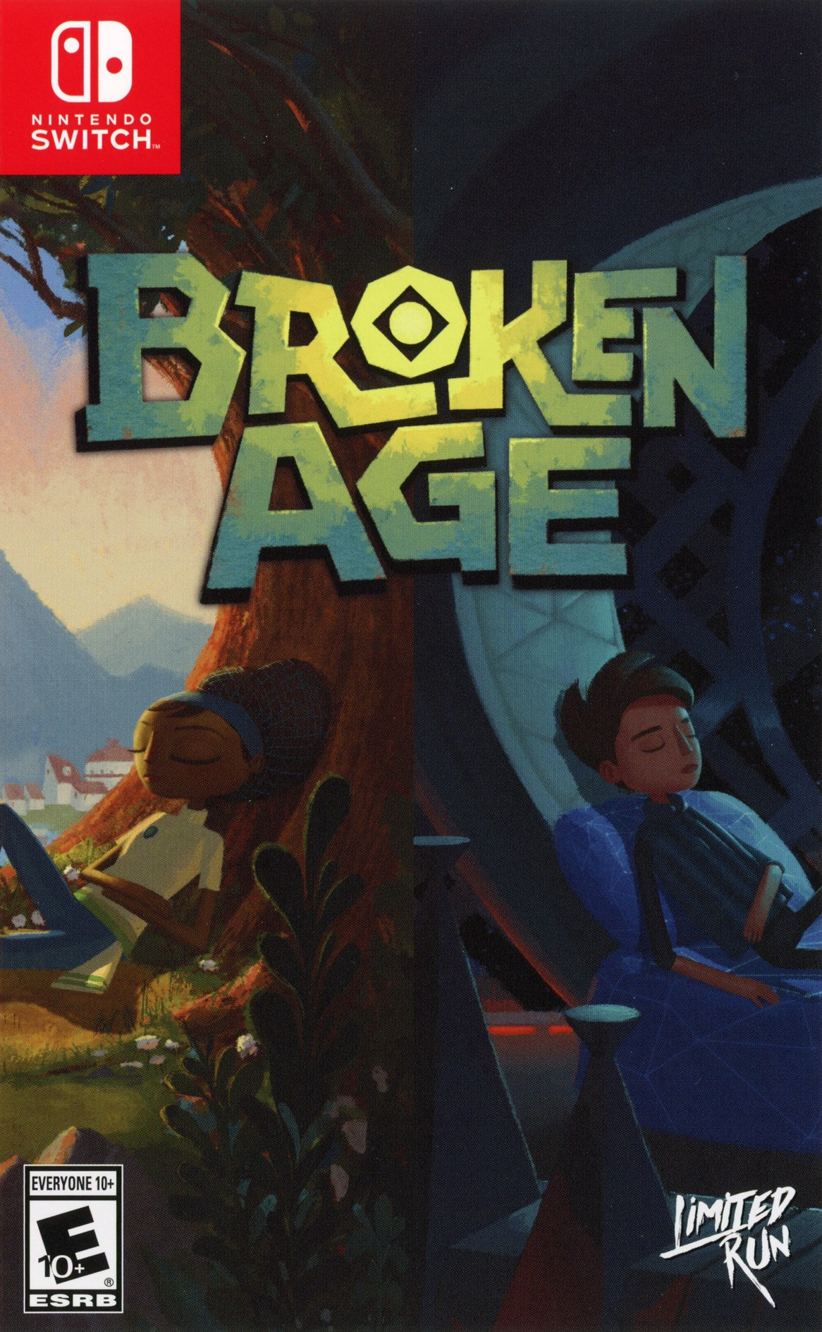Broken Age Switch coverHQ (APH3A)
