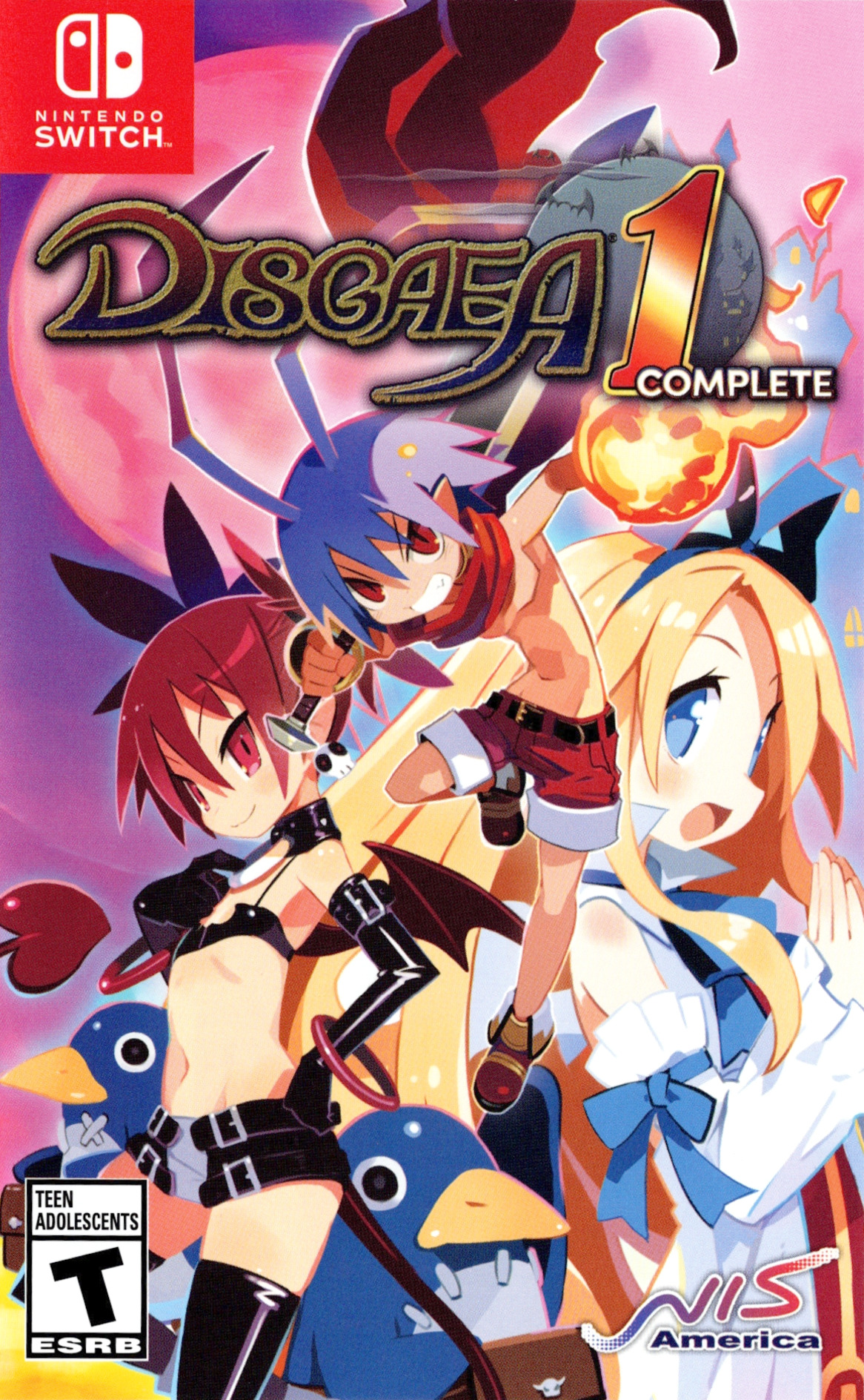 Disgaea 1 Complete Switch coverHQ (APNGB)