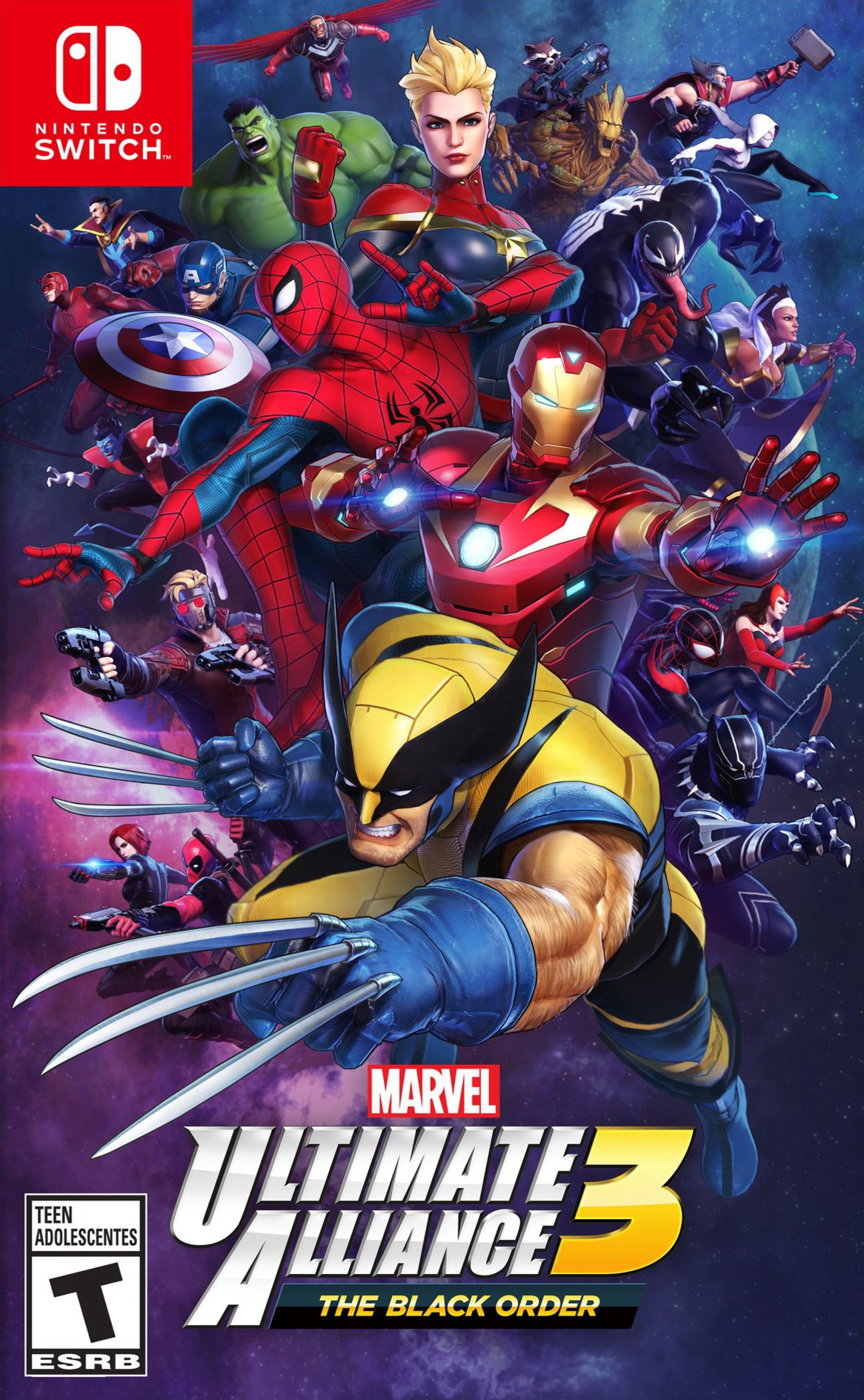 Marvel Ultimate Alliance 3 The Black Order  Switch coverHQ (APY2A)