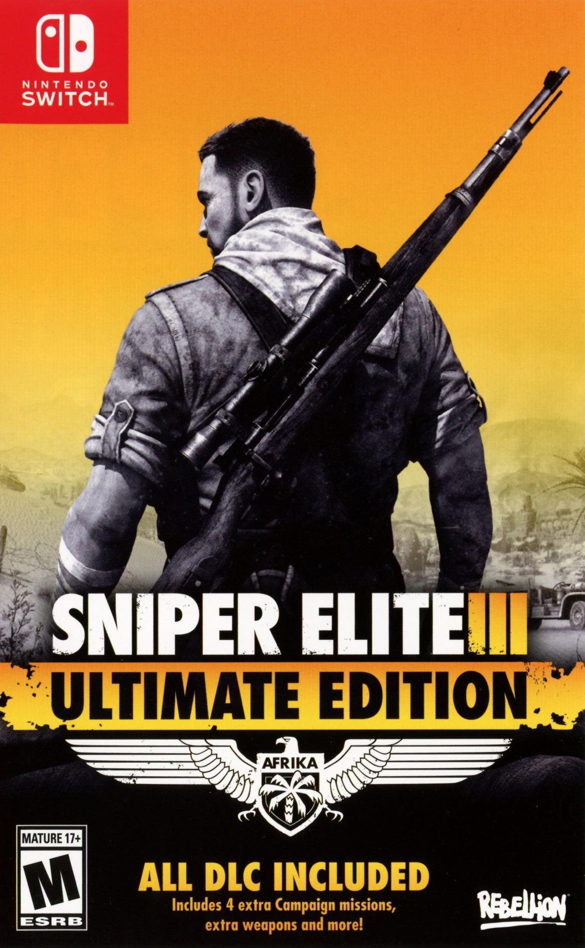 Sniper Elite 3 Ultimate Edition Switch coverHQ (AQ3RA)