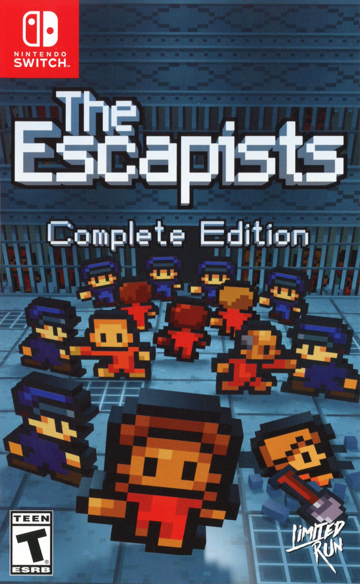 The Escapists: Complete Edition Switch coverHQ (AQ4LA)