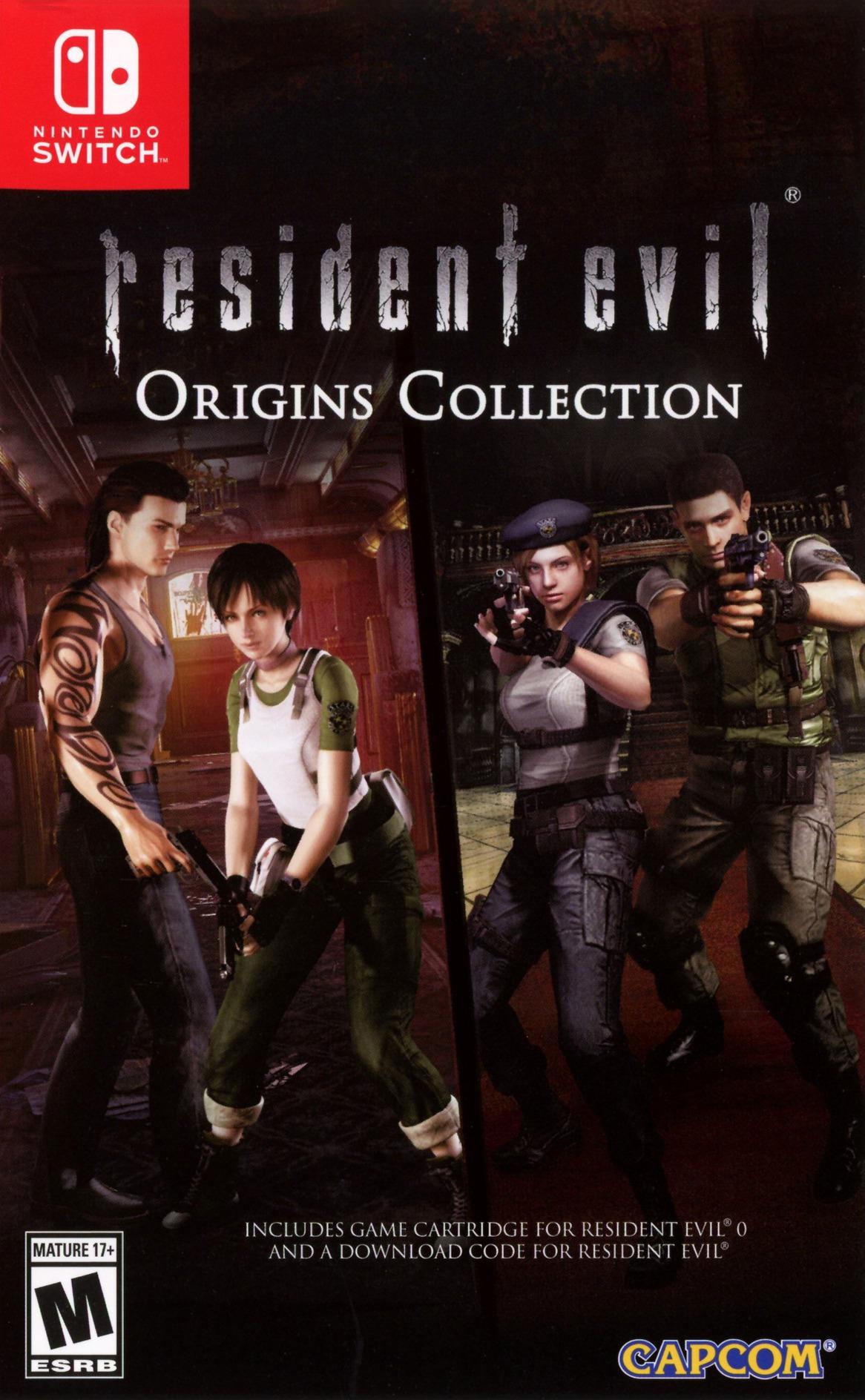 Resident Evil 0 Switch coverHQ (AQ76B)