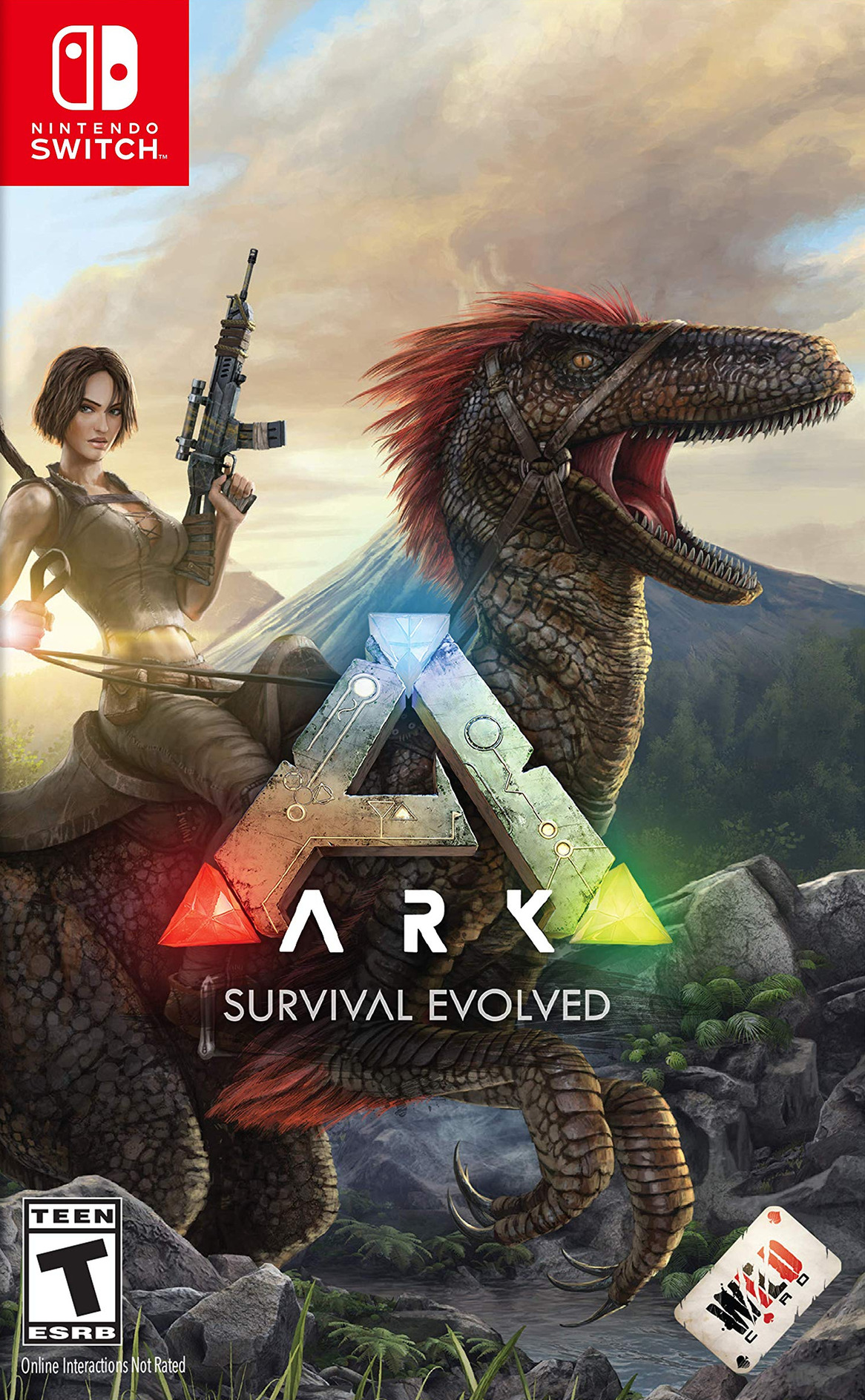 ARK - Survival Evolved Switch coverHQ (AQDWA)