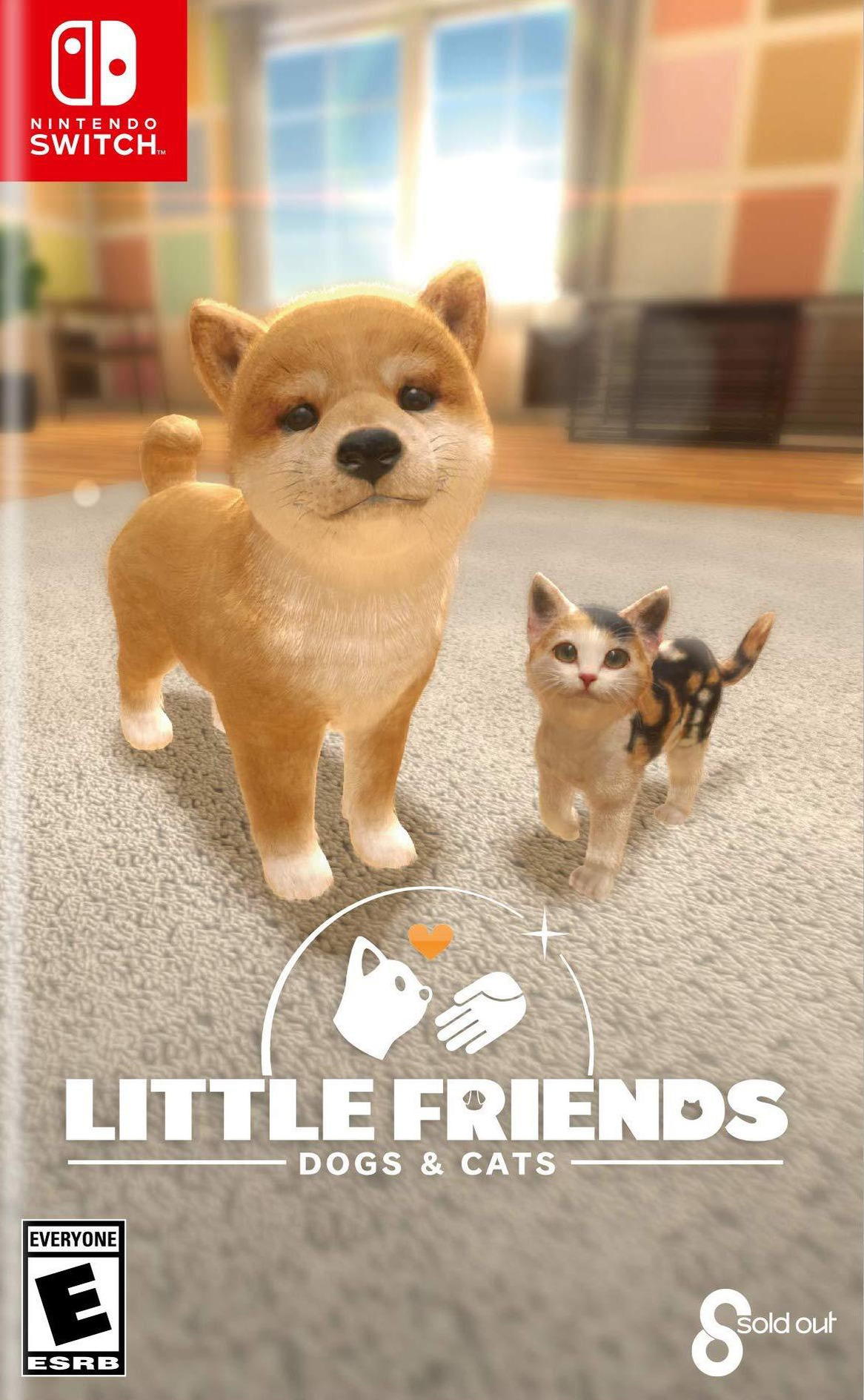 Little Friends: Dogs & Cats Switch coverHQ (AQQDB)