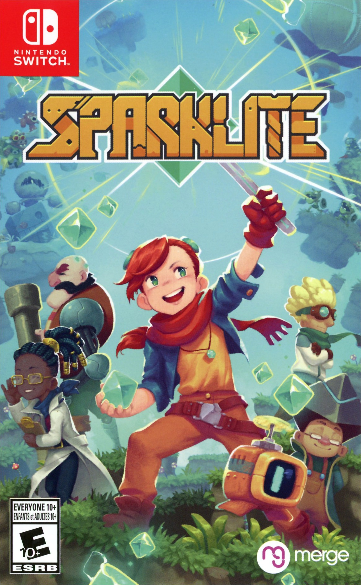 Sparklite Switch coverHQ (ARJNA)