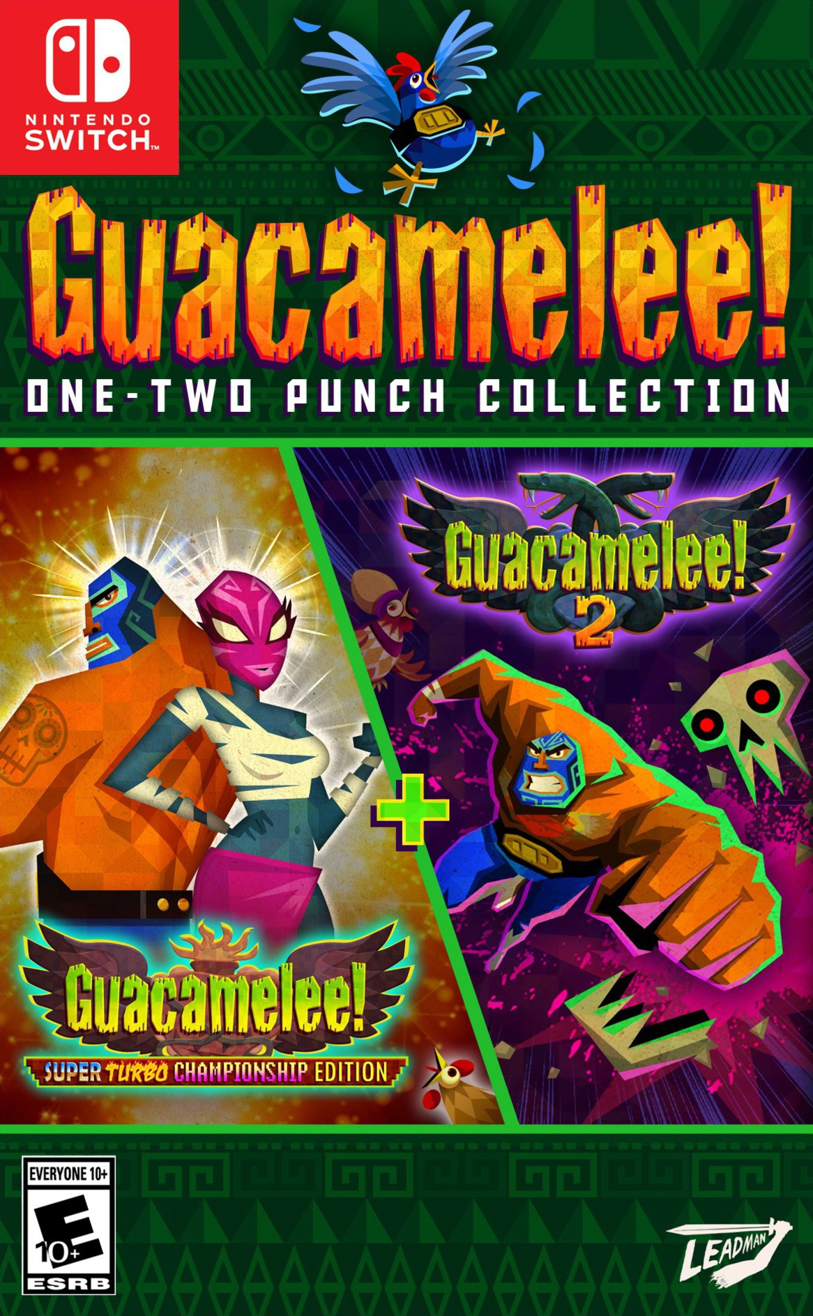 Guacamelee One Two Punch Collection Switch coverHQ (AS6YA)
