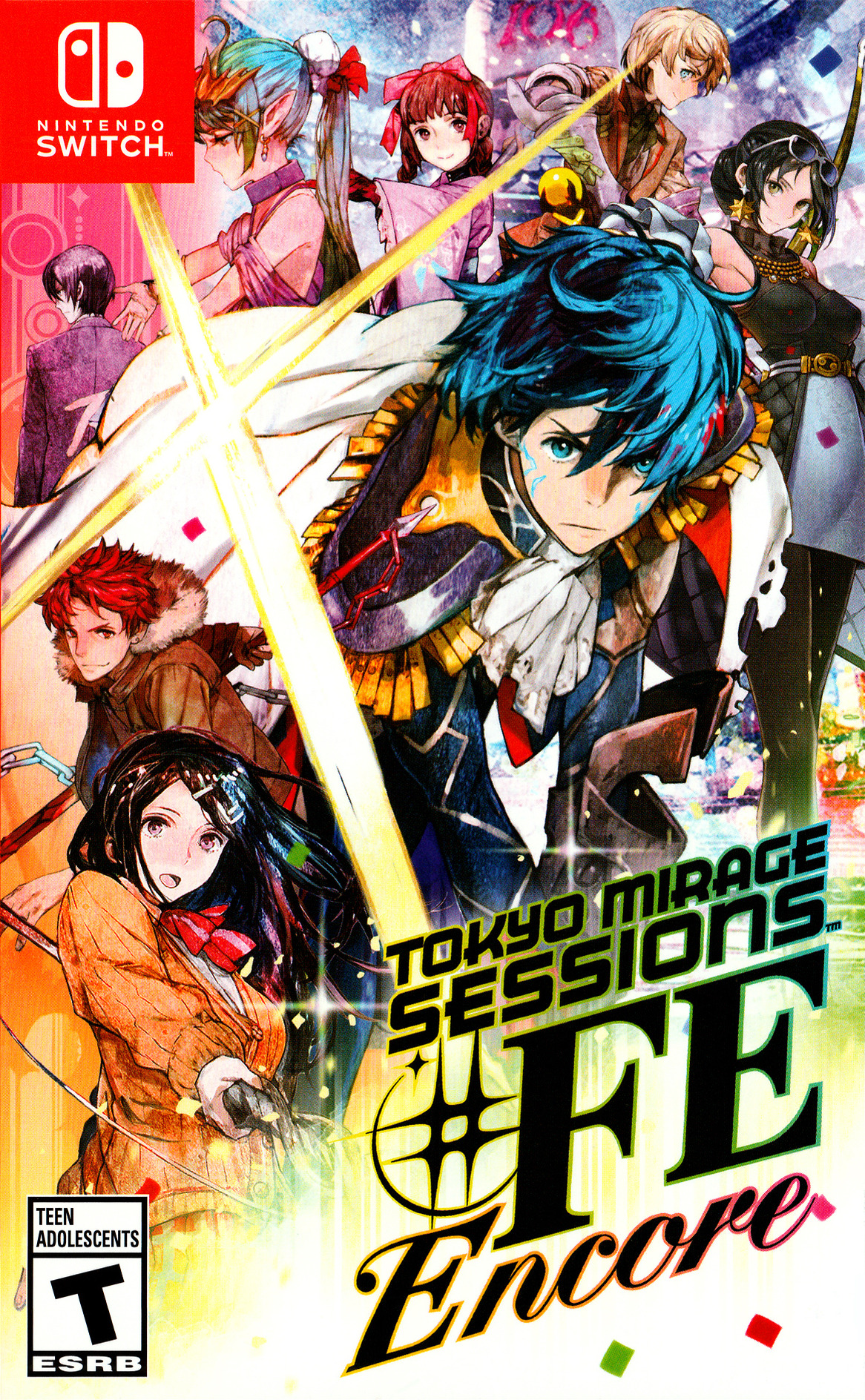 Tokyo Mirage Sessions #FE Encore Switch coverHQ (ASA4A)
