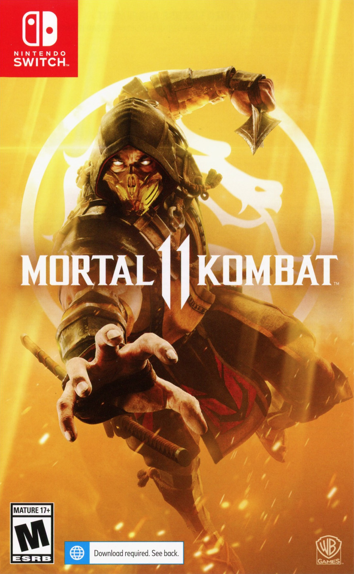Mortal Kombat 11 Switch coverHQ (ASADA)