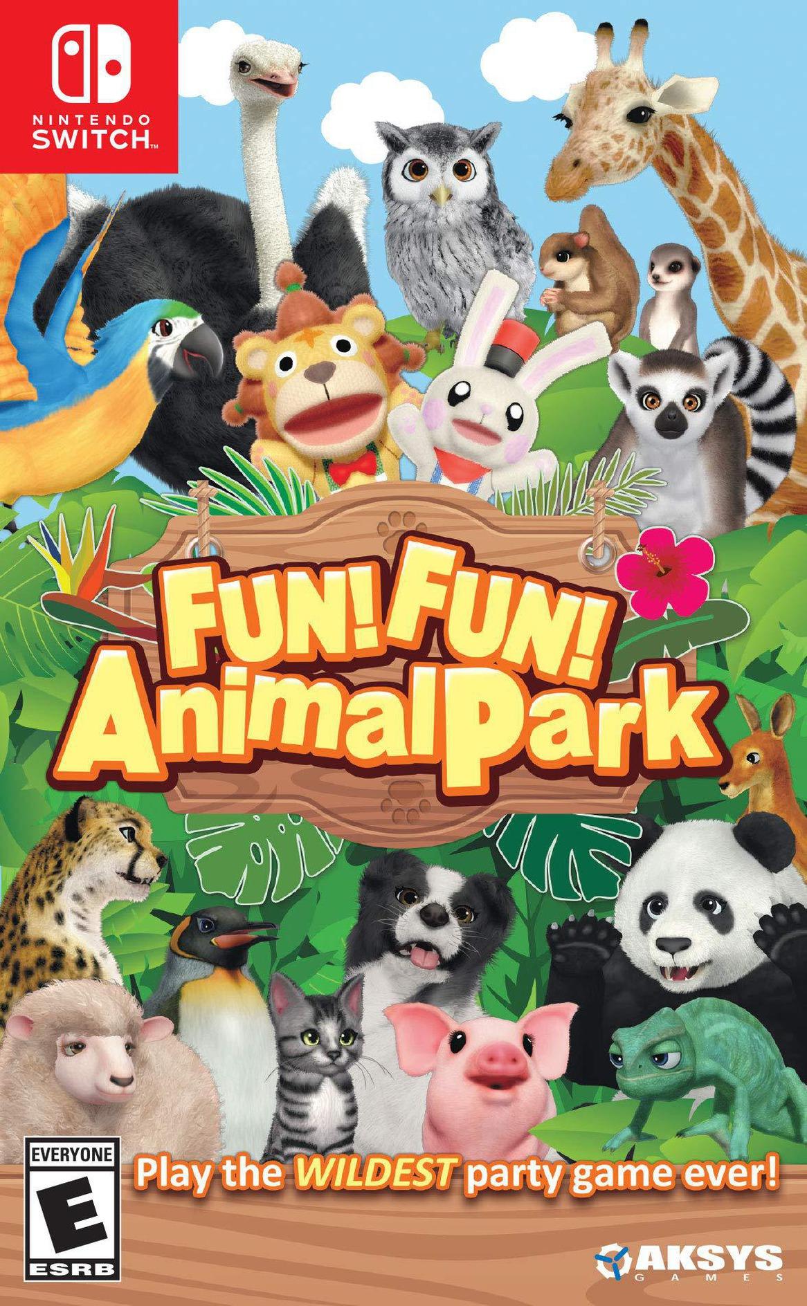FUN! FUN! Animal Park Switch coverHQ (ASGPA)