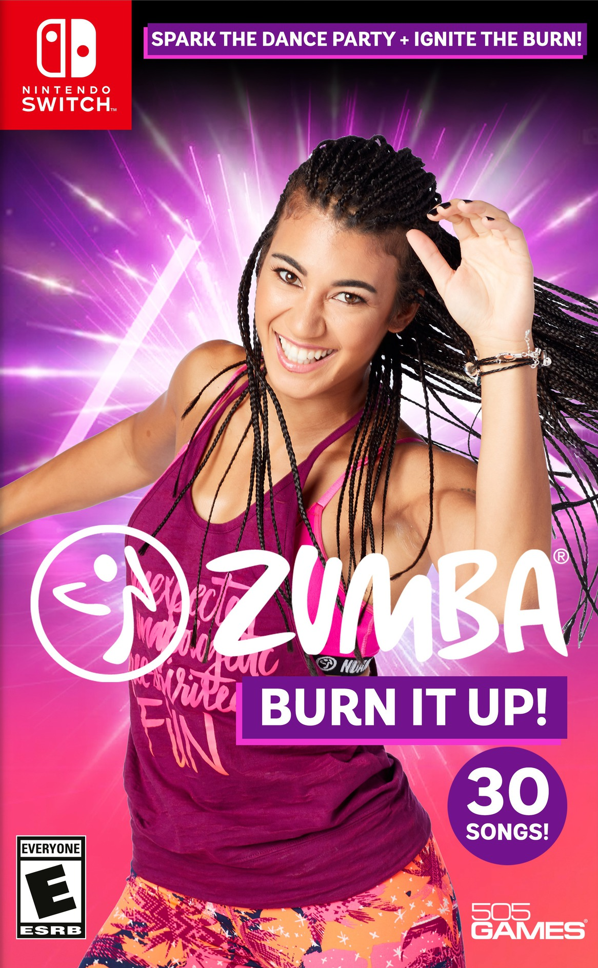 Zumba Burn It Up! Switch coverHQ (ASLUA)