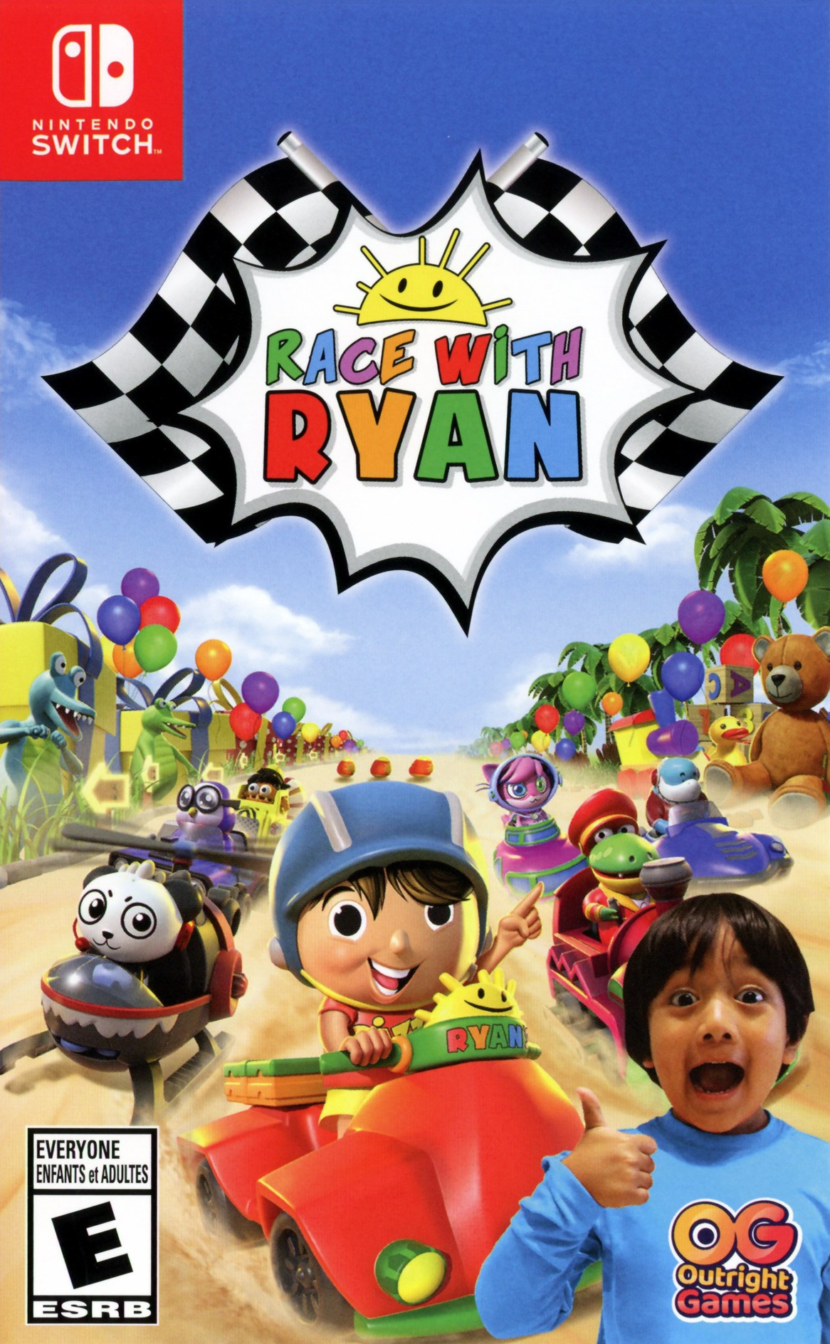 Race with Ryan Switch coverHQ (ATTFA)