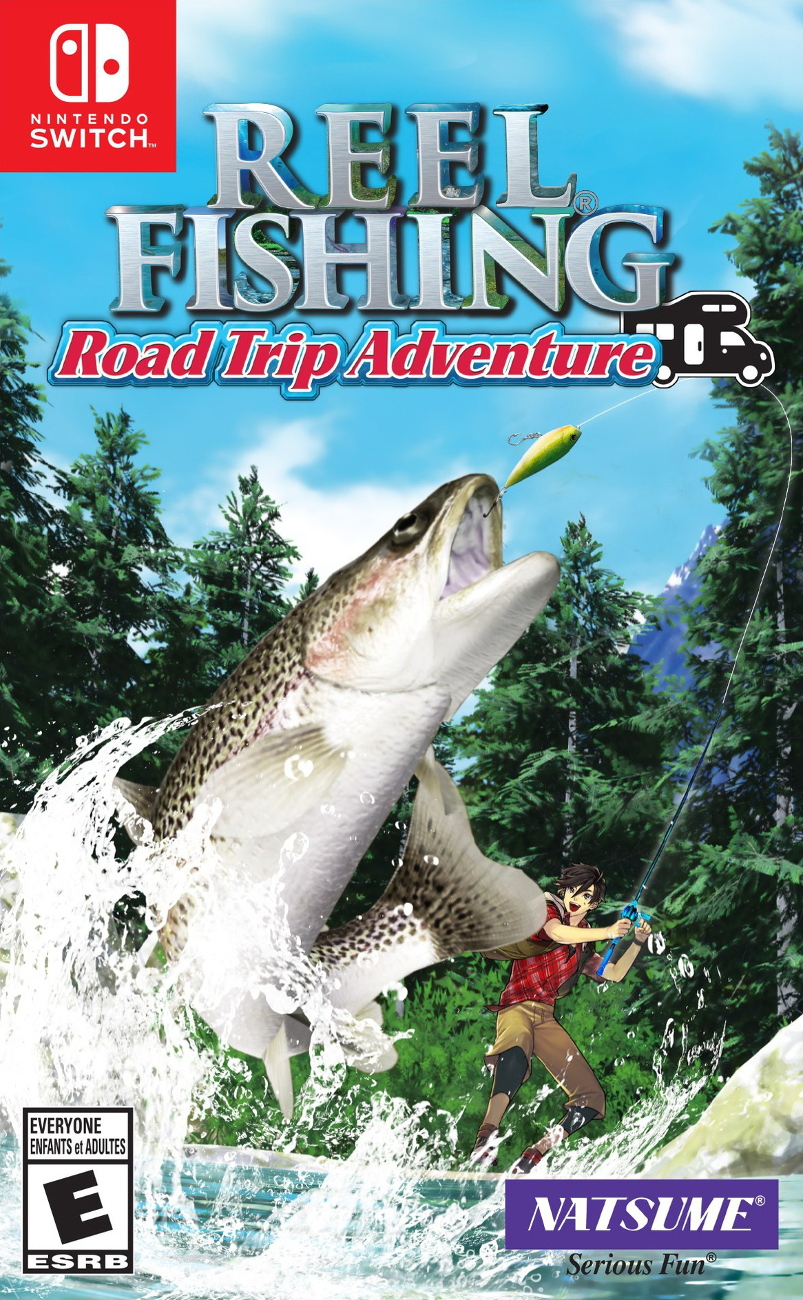 Reel Fishing Road Trip Adventure Switch coverHQ (AULRA)