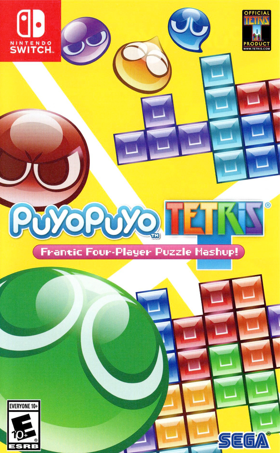 Puyo Puyo Tetris Switch coverHQ (BAACB)
