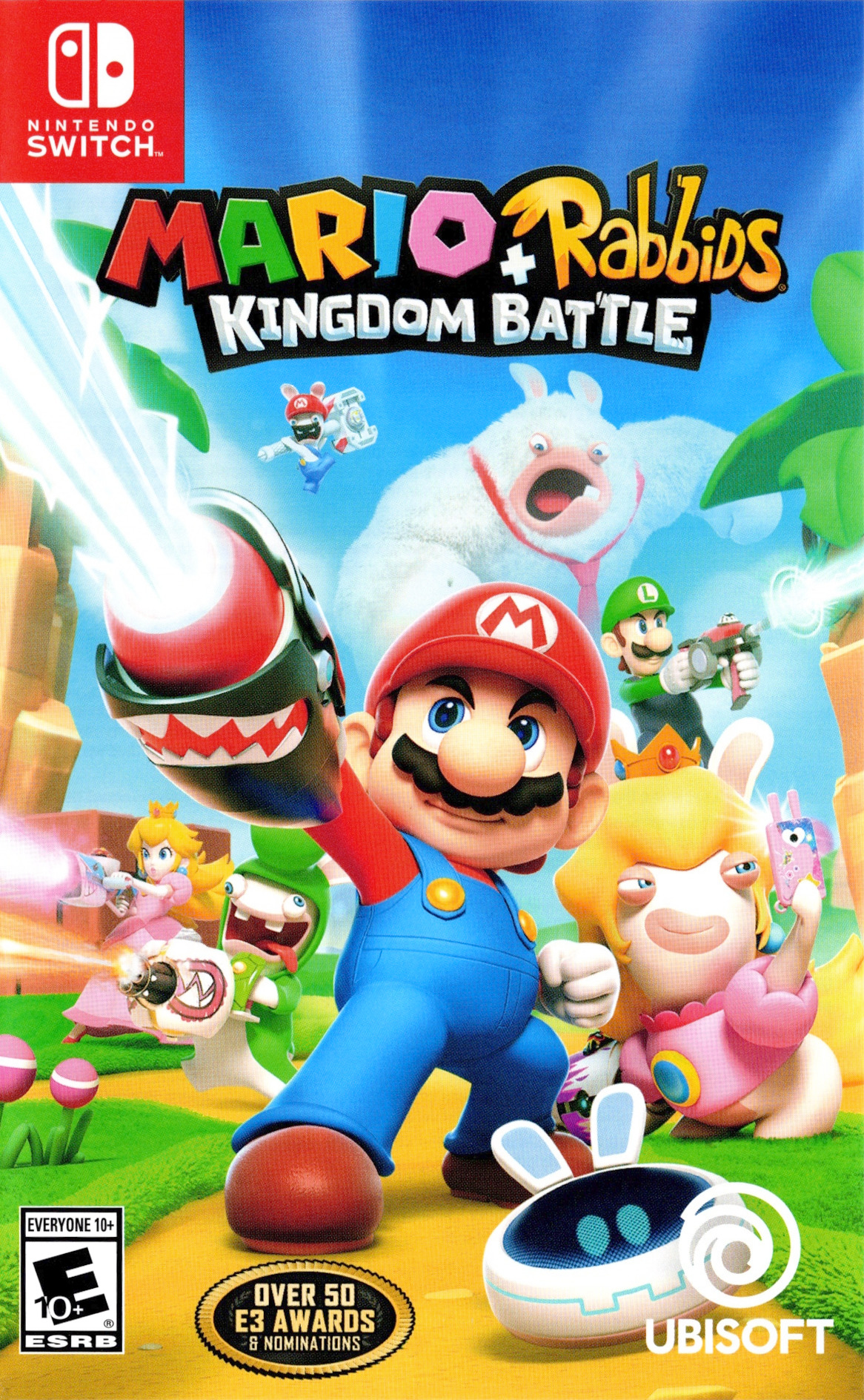 Mario + Rabbids: Kingdom Battle Switch coverHQ (BAANA)