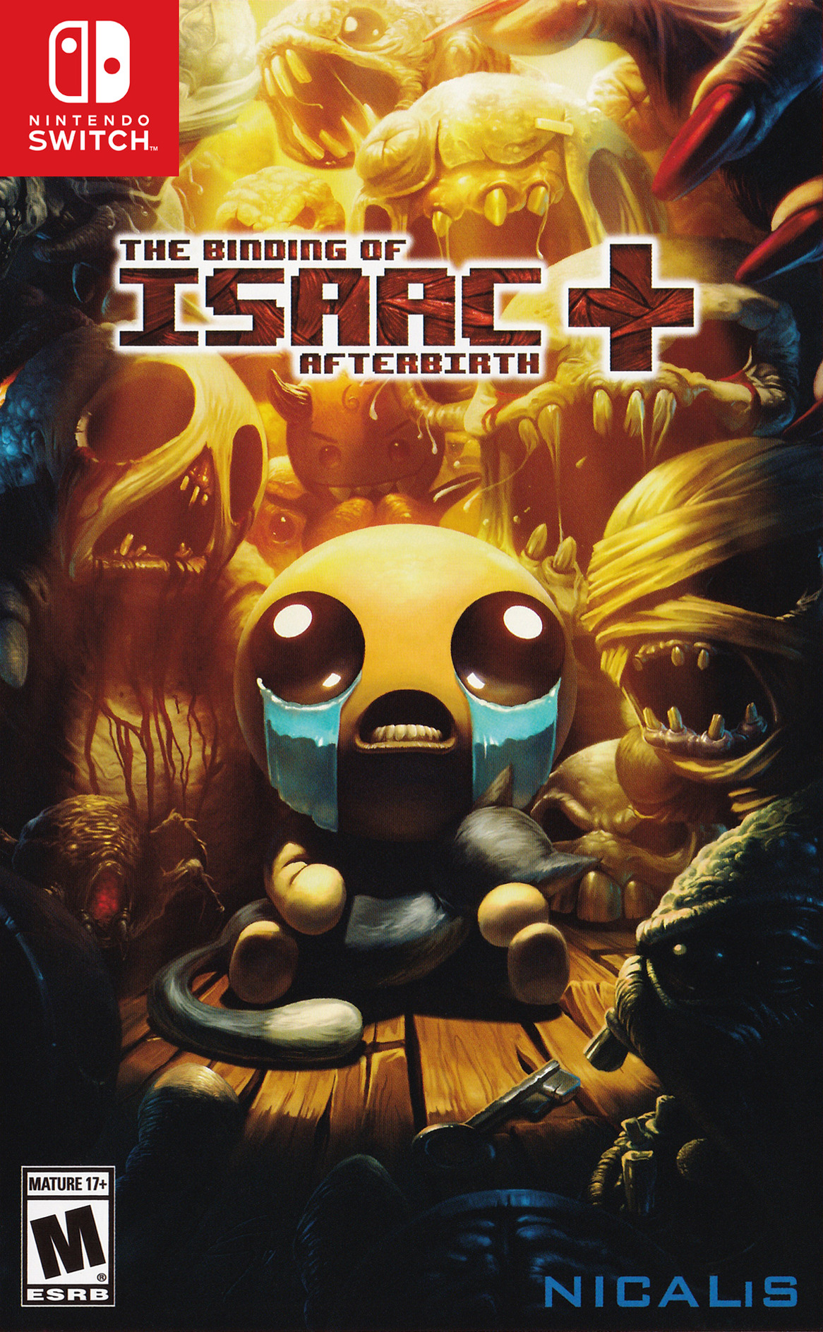 The Binding of Isaac: Afterbirth+ Switch coverHQ (BAAZA)