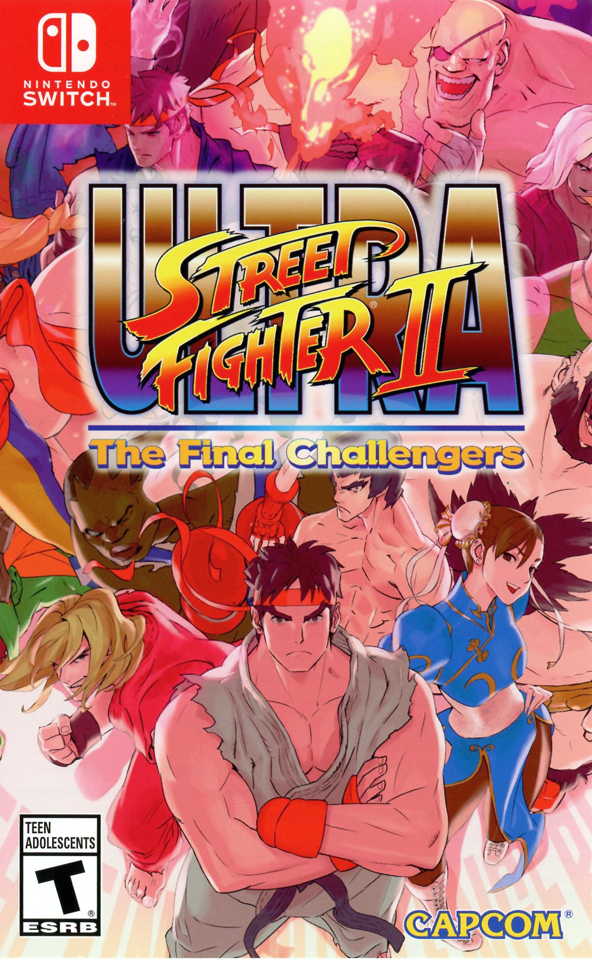 Babbe Ultra Street Fighter Ii The Final Challengers