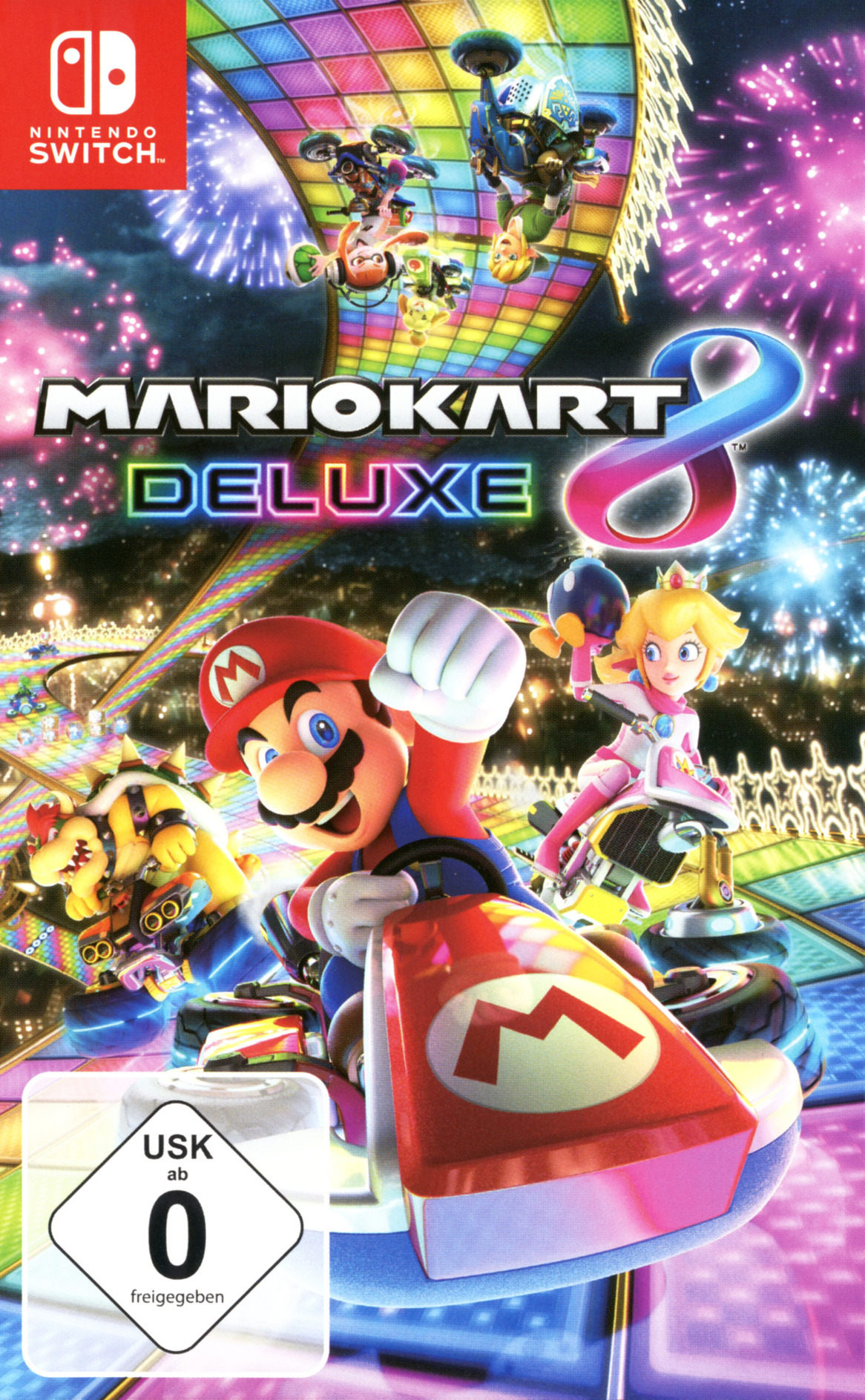 Mario Kart 8 Deluxe Switch coverHQB (AABPA)
