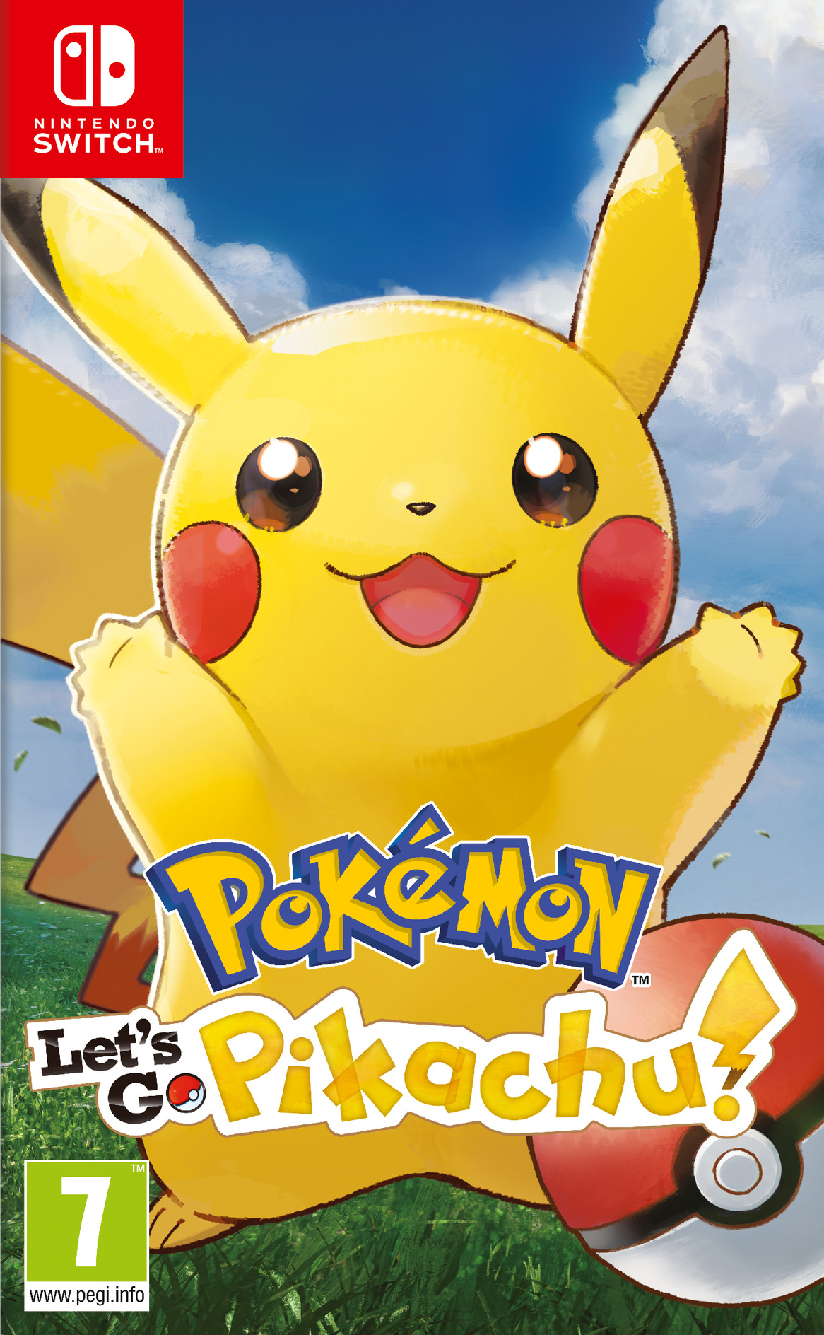 Pokémon:Let's Go, Pikachu Switch coverHQB (ADW2A)