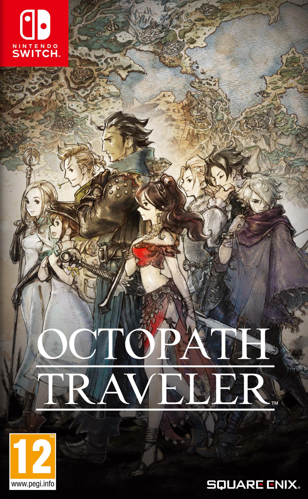 Octopath Traveler Switch coverHQB (AGY7B)