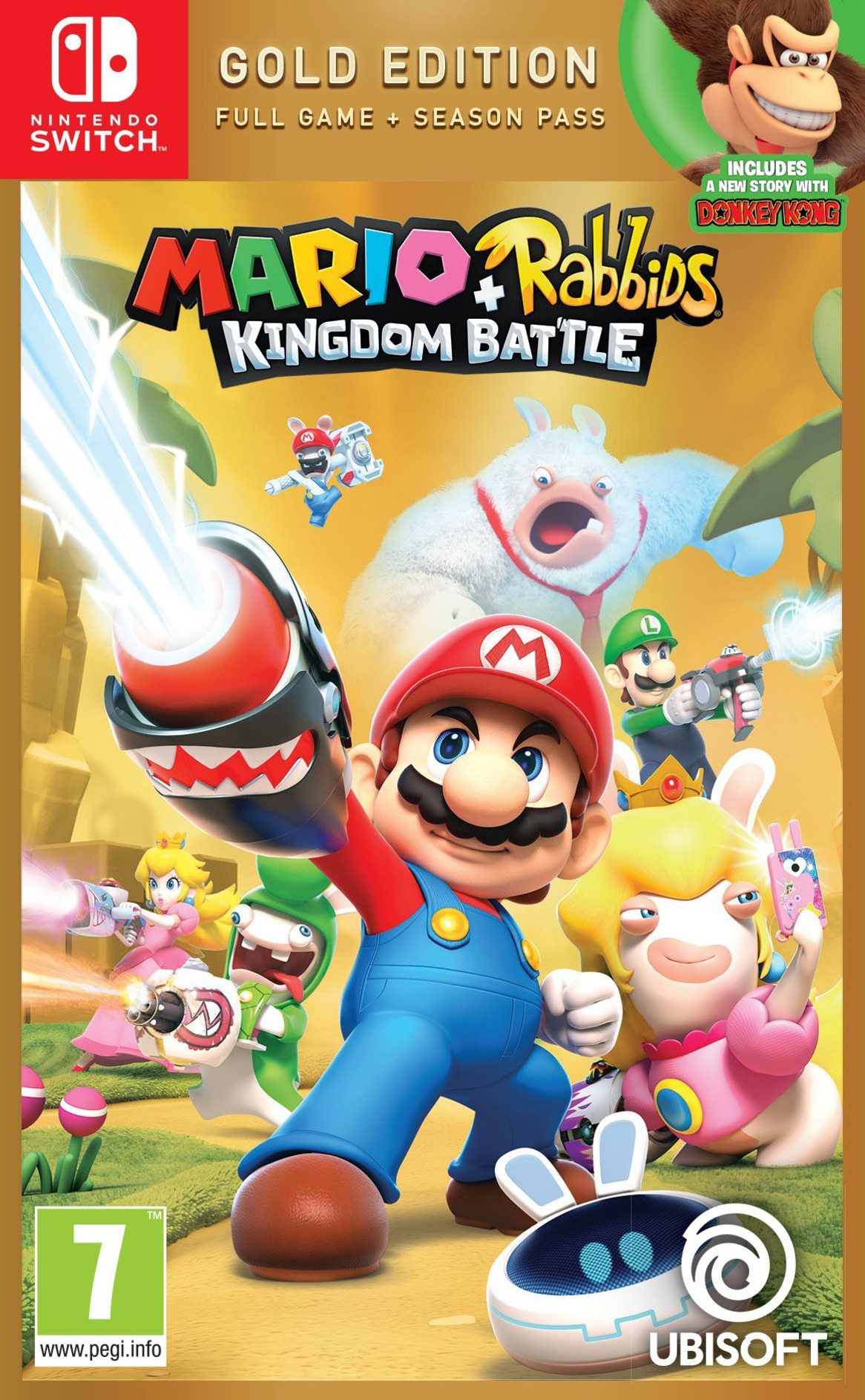 Mario + Rabbids: Kingdom Battle Switch coverHQB (BAANA)