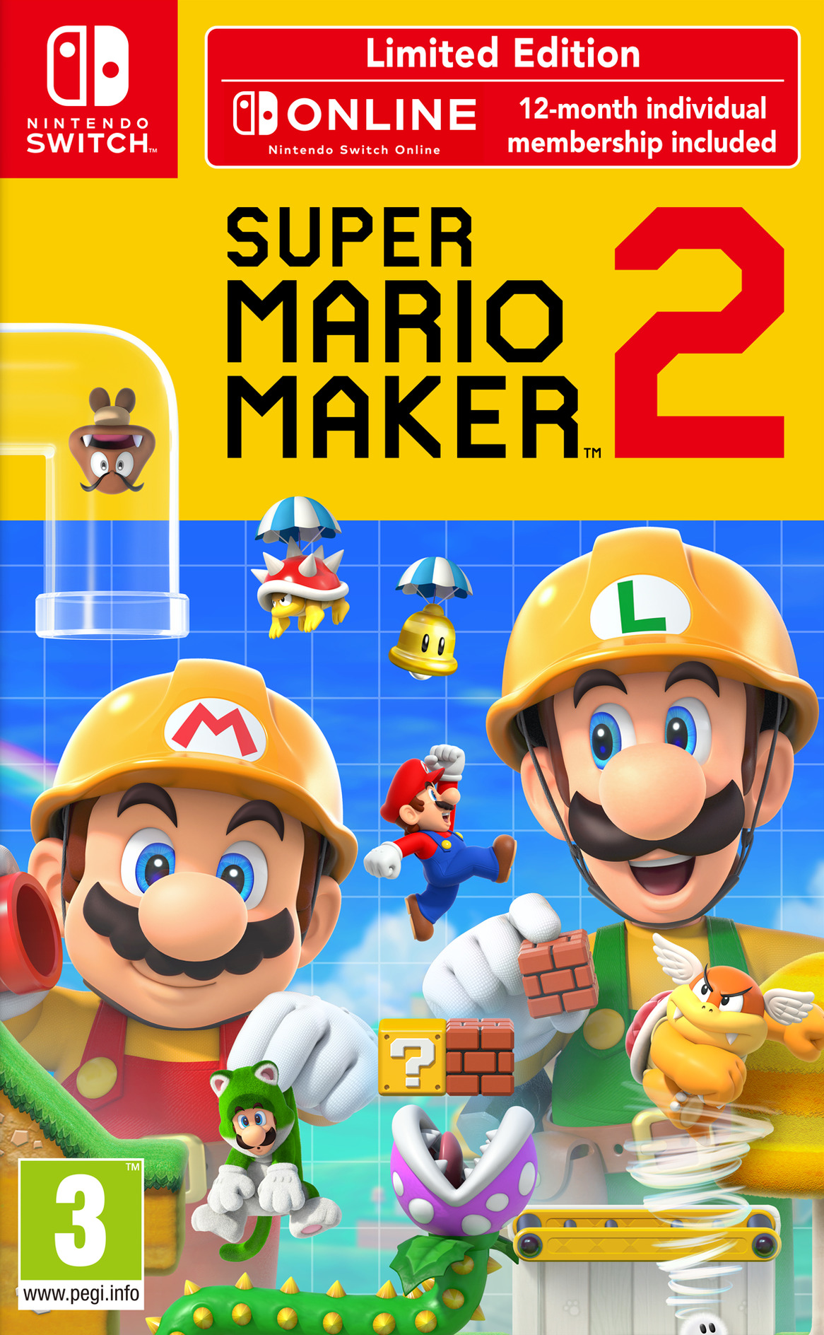 Super Mario Maker 2 Switch coverHQB (BAAQA)