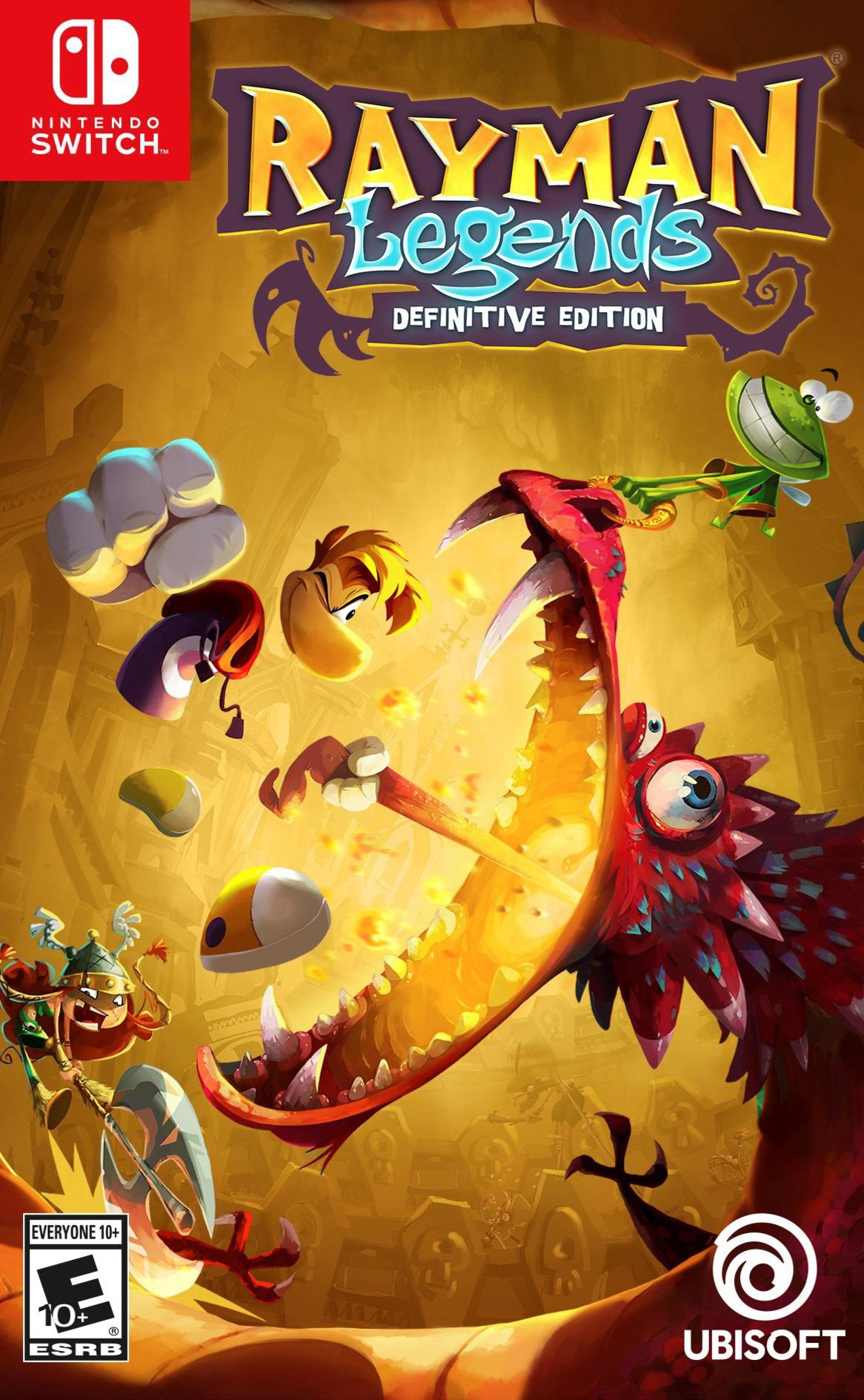 Rayman Legends: Definitive Edition Switch coverHQB (ACVKA)