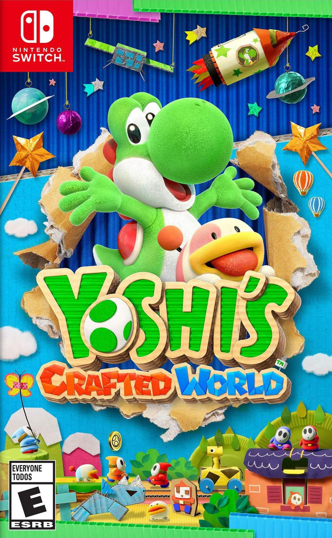 Yoshi's Crafted World Switch coverHQB (AEA2A)