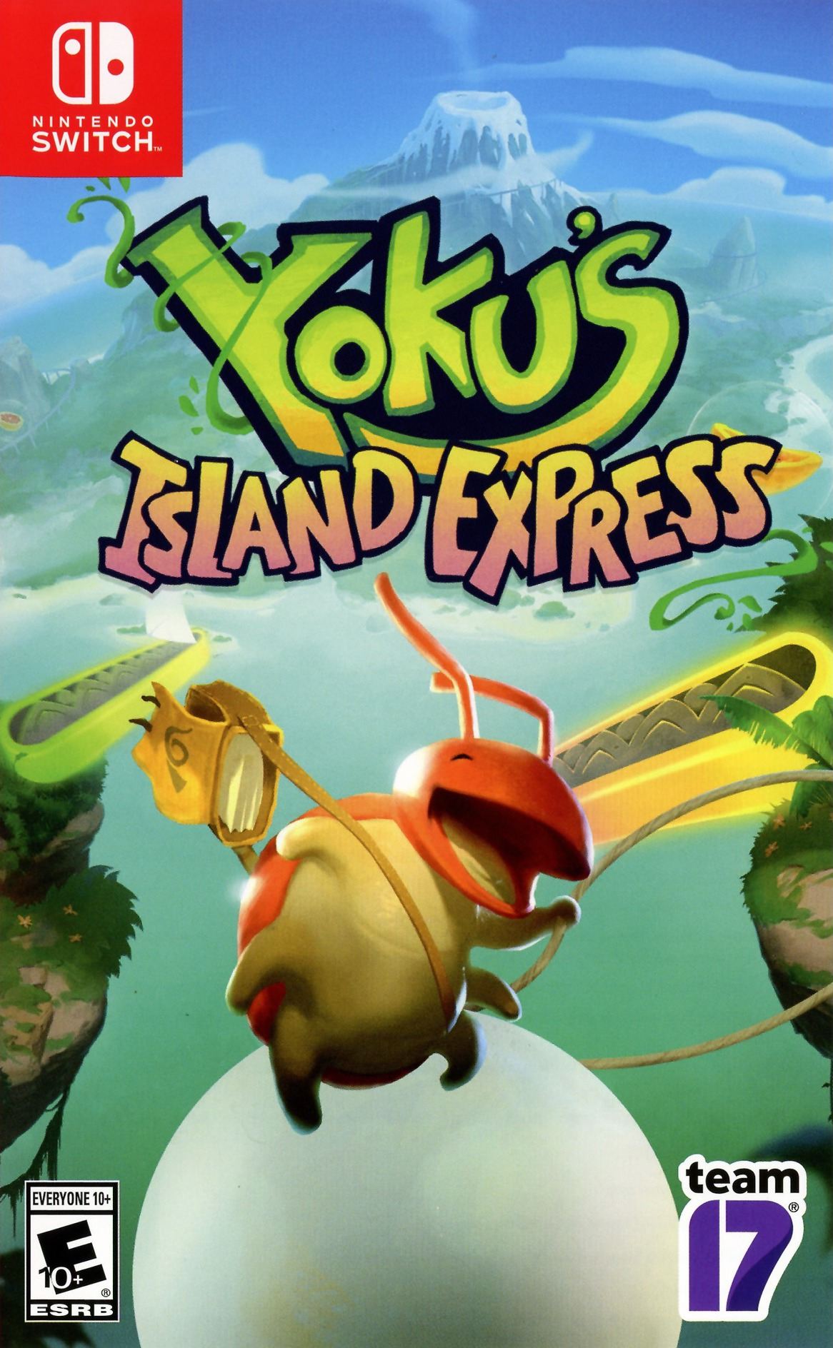 Yoku's Island Express Switch coverHQB (AGV8A)