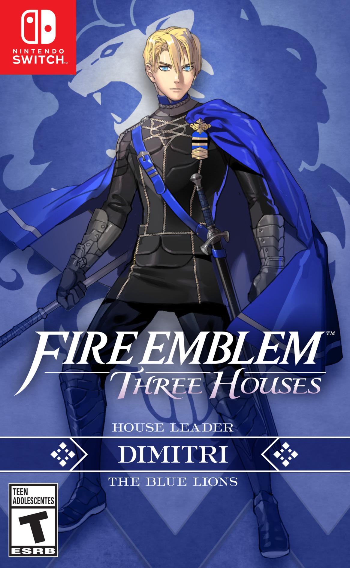 Fire Emblem: Three Houses Switch coverHQB (ANVYA)