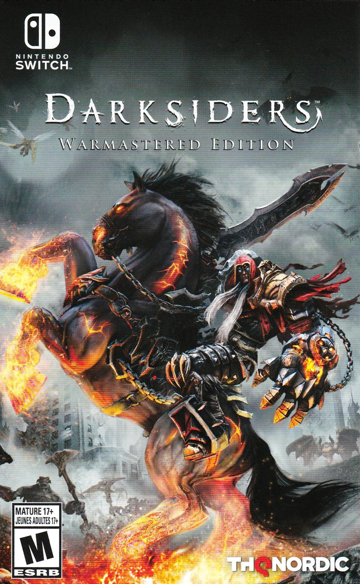 Darksiders - Warmastered Edition Switch coverHQB (ASFSA)