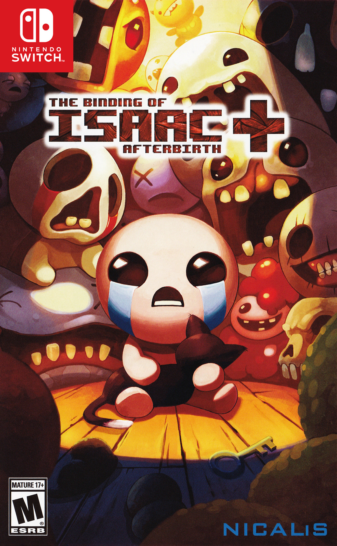The Binding of Isaac: Afterbirth+ Switch coverHQB (BAAZA)