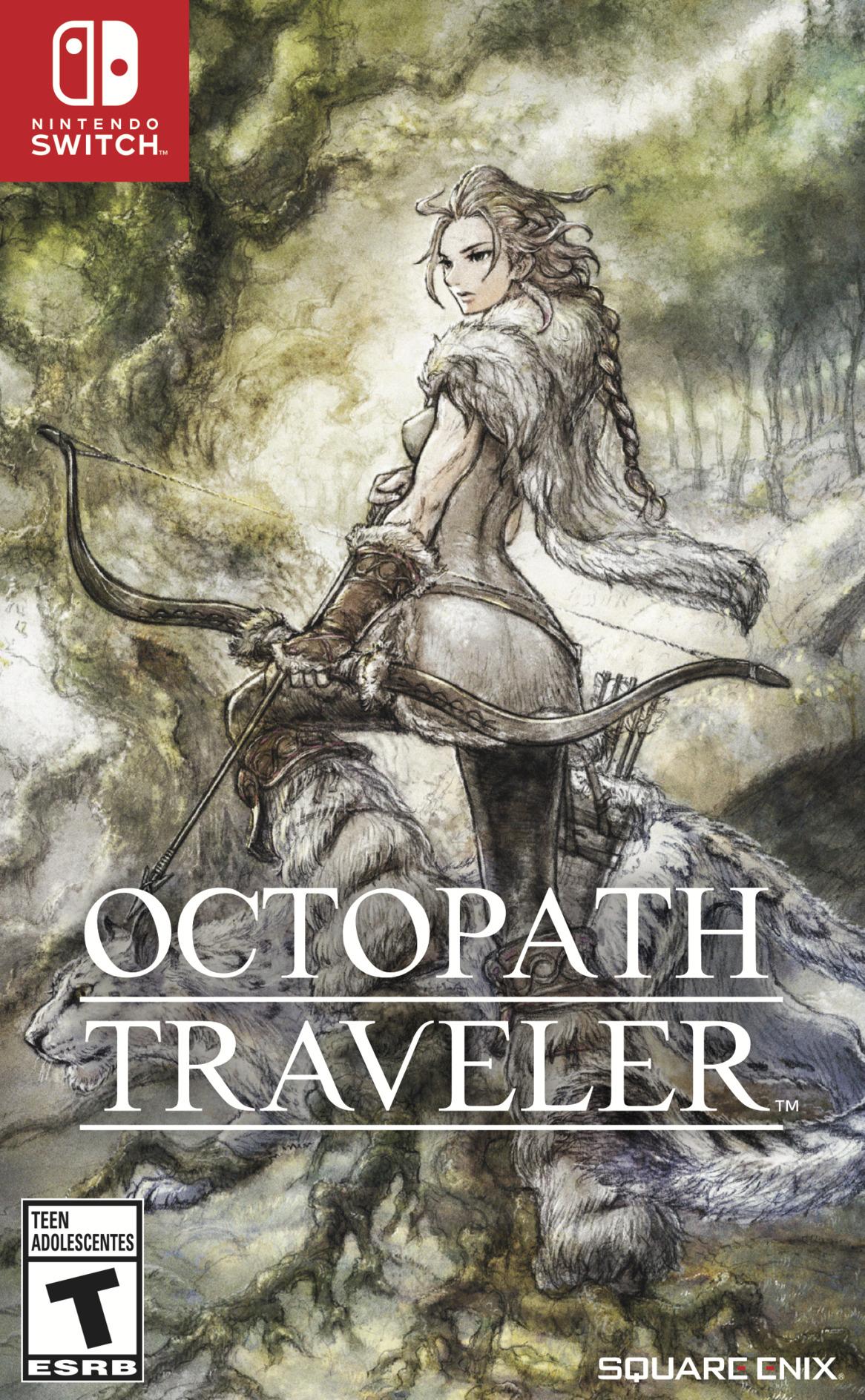 Octopath Traveler Switch coverHQB2 (AGY7B)